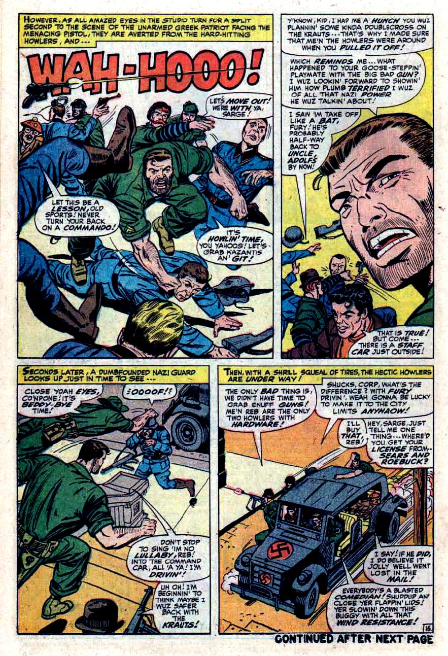 Read online Sgt. Fury comic -  Issue #33 - 22
