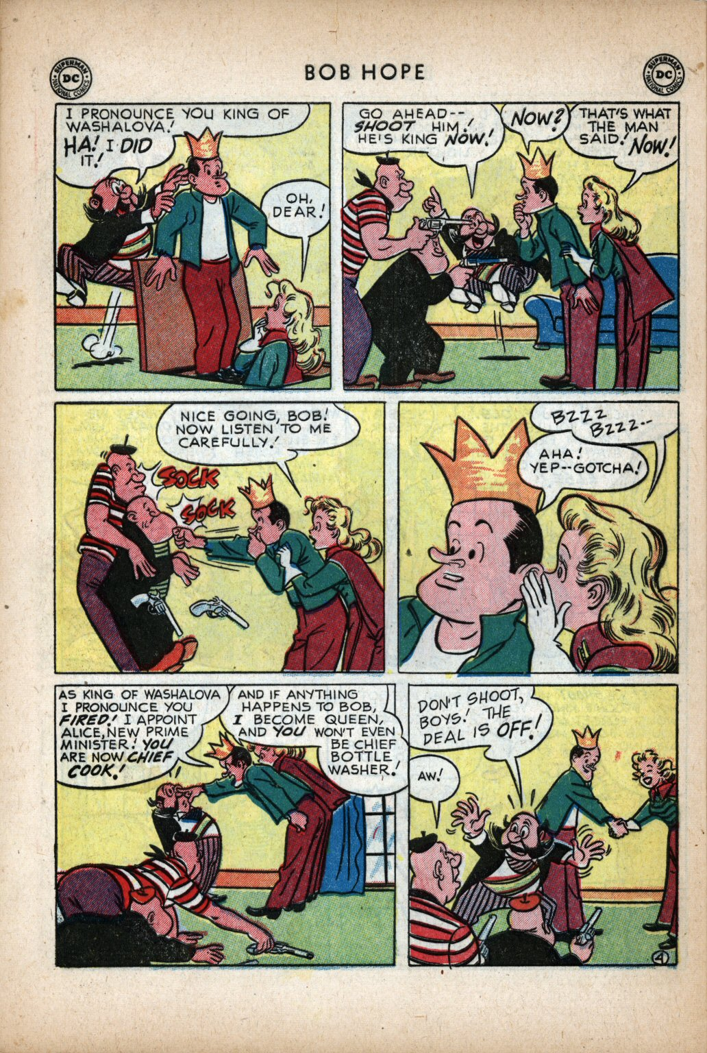 The Adventures of Bob Hope issue 11 - Page 38