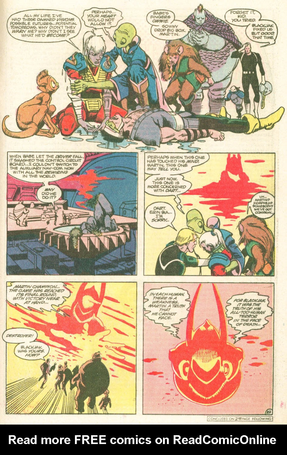 Read online Atari Force (1984) comic -  Issue #11 - 24