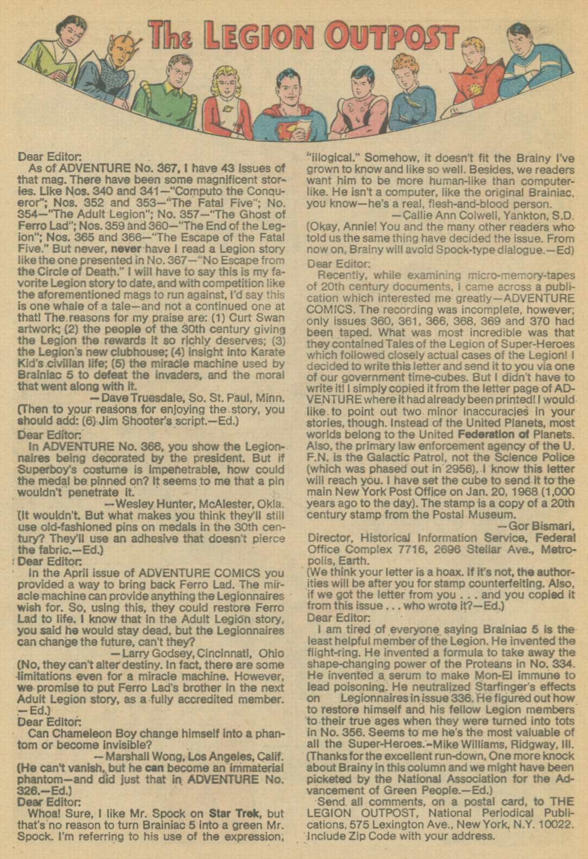 Read online Adventure Comics (1938) comic -  Issue #370 - 32