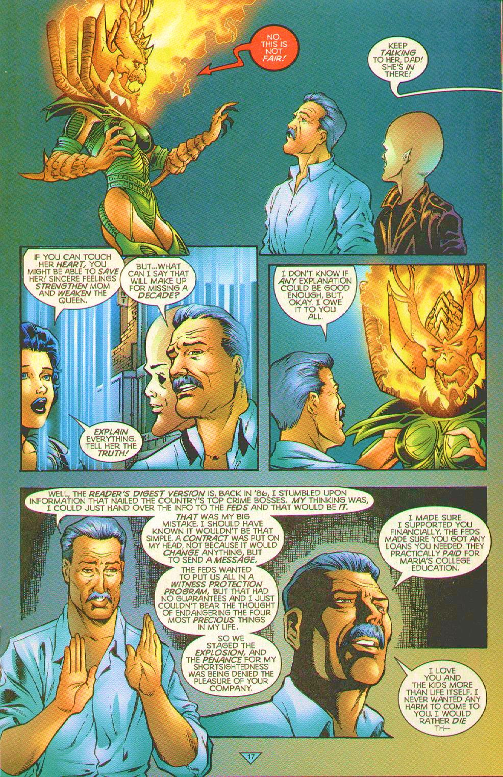 Read online Trinity Angels comic -  Issue #12 - 17
