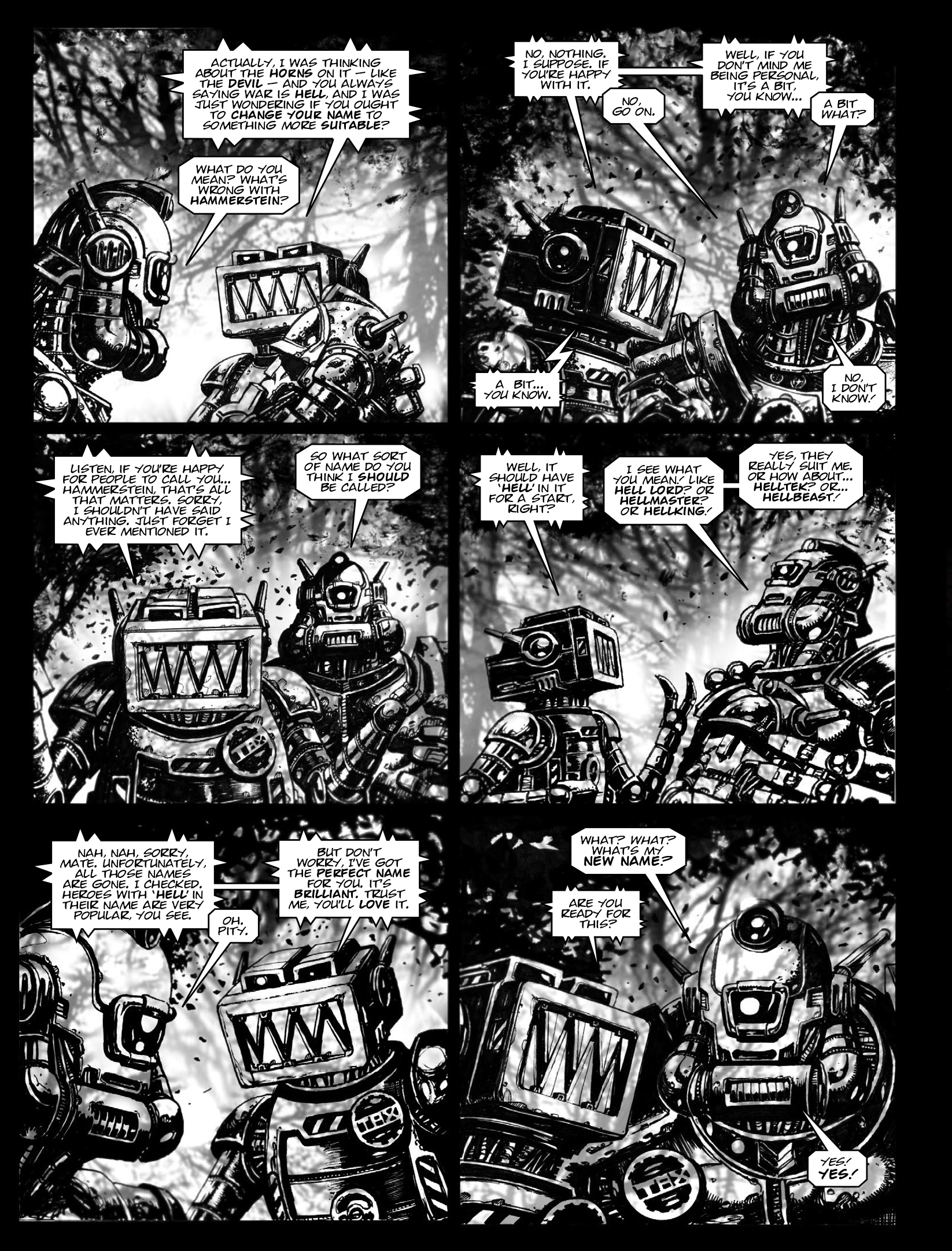 Read online 2000 AD comic -  Issue #1970 - 18