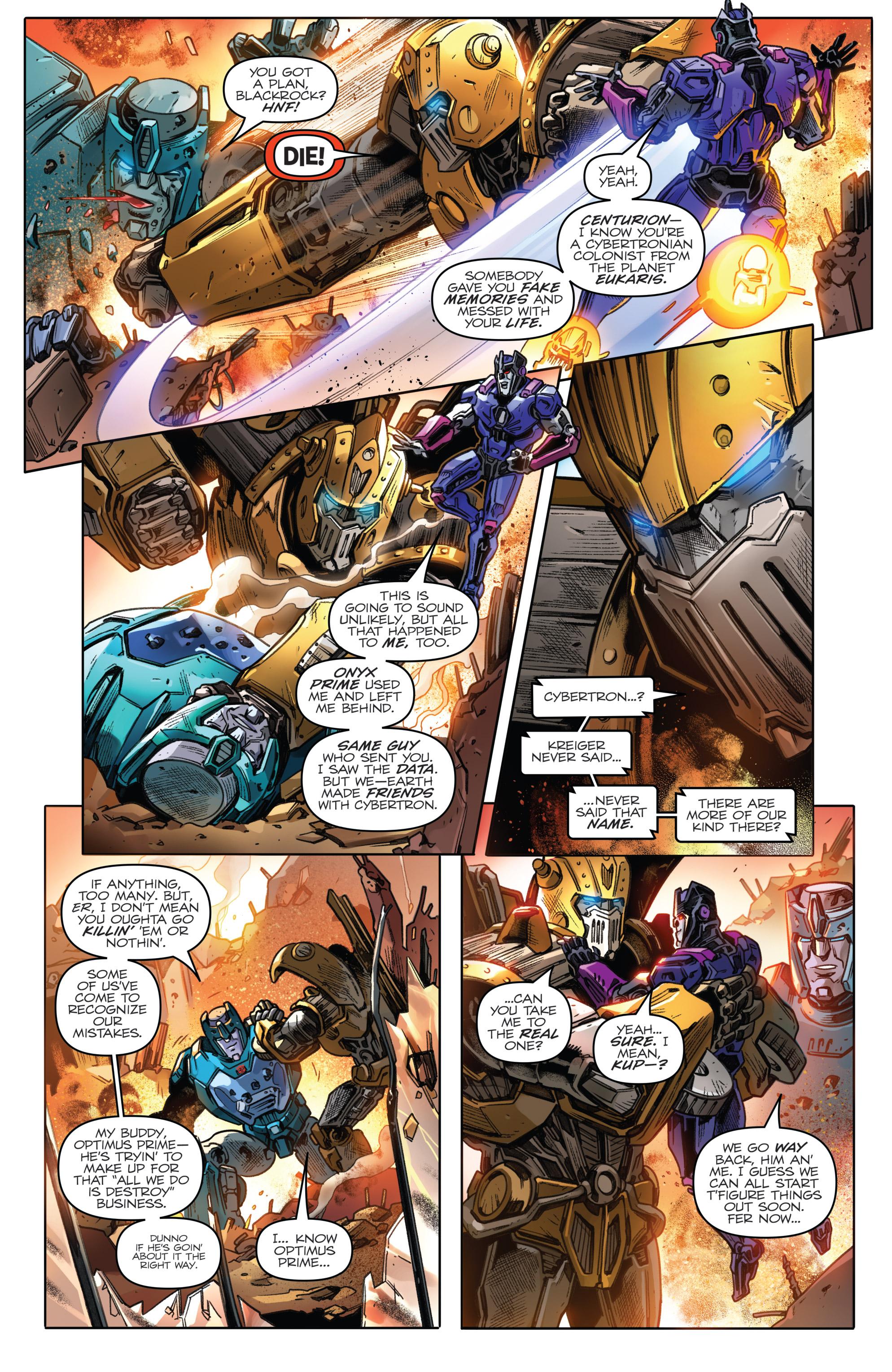 Read online Revolutionaries comic -  Issue #5 - 22