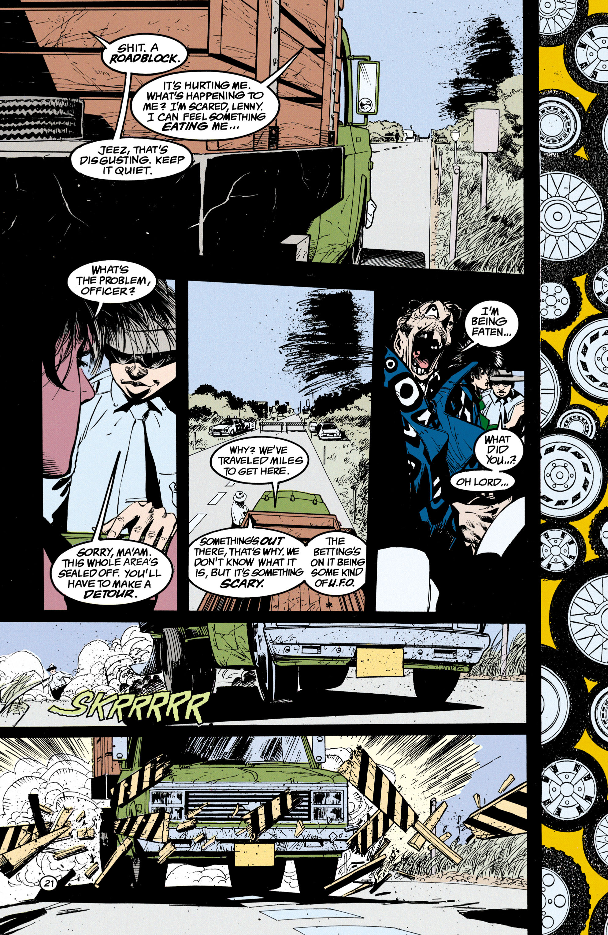 Read online Shade, the Changing Man comic -  Issue #24 - 22