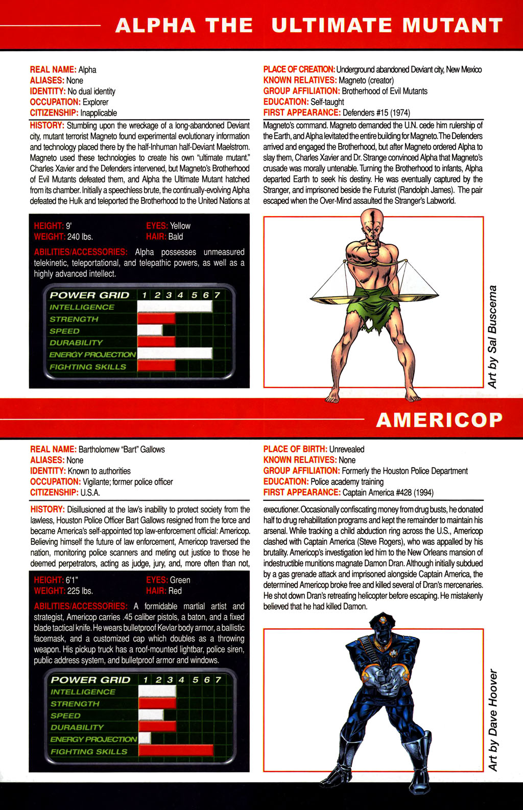 Read online All-New Official Handbook of the Marvel Universe A to Z comic -  Issue #1 - 19