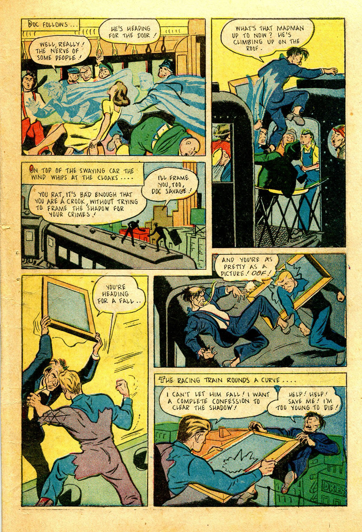 Read online Shadow Comics comic -  Issue #43 - 49
