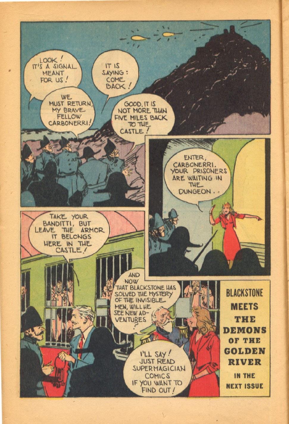Read online Super-Magician Comics comic -  Issue #38 - 16