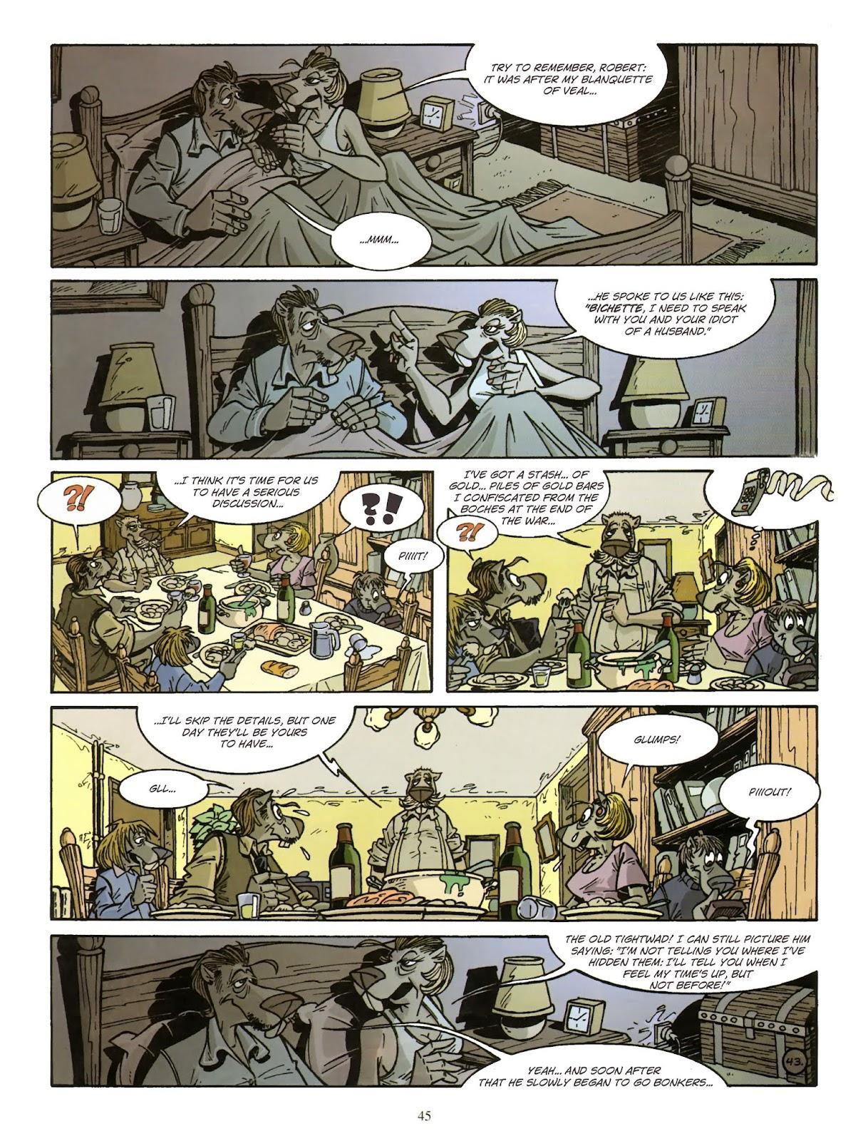 Une enquête de l'inspecteur Canardo issue 11 - Page 46