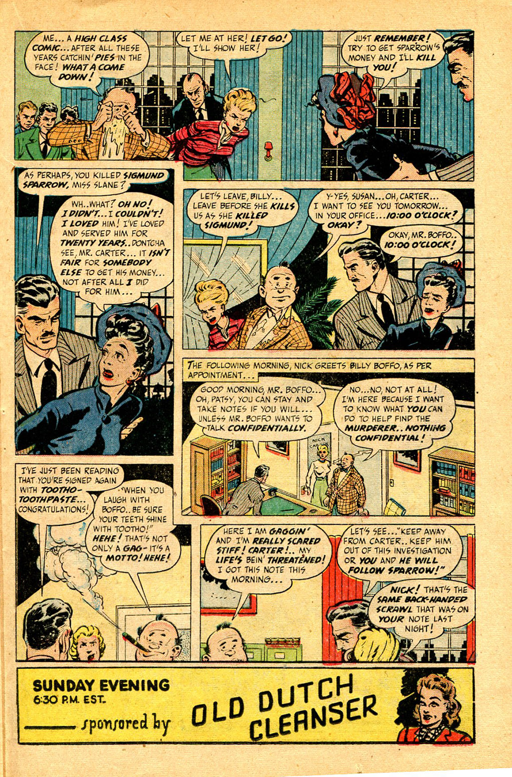 Read online Shadow Comics comic -  Issue #97 - 31