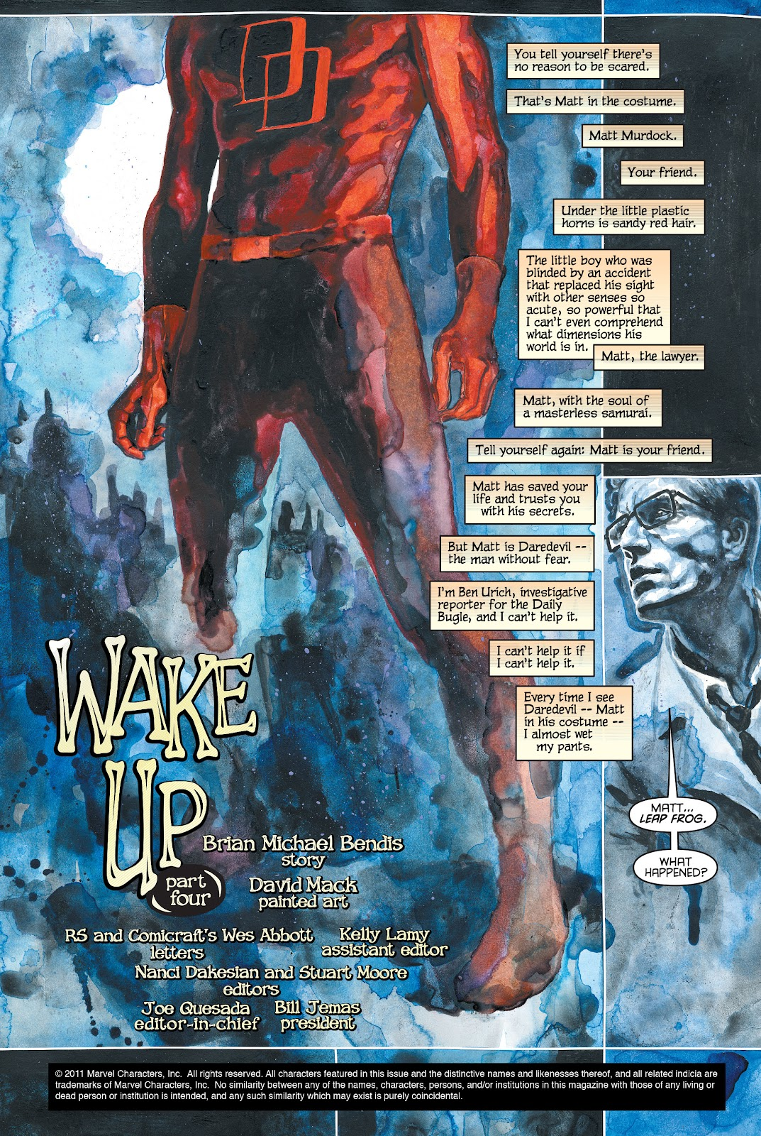 Read online Daredevil (1998) comic -  Issue # _Ultimate_Collection TPB 1 (Part 1) - 69