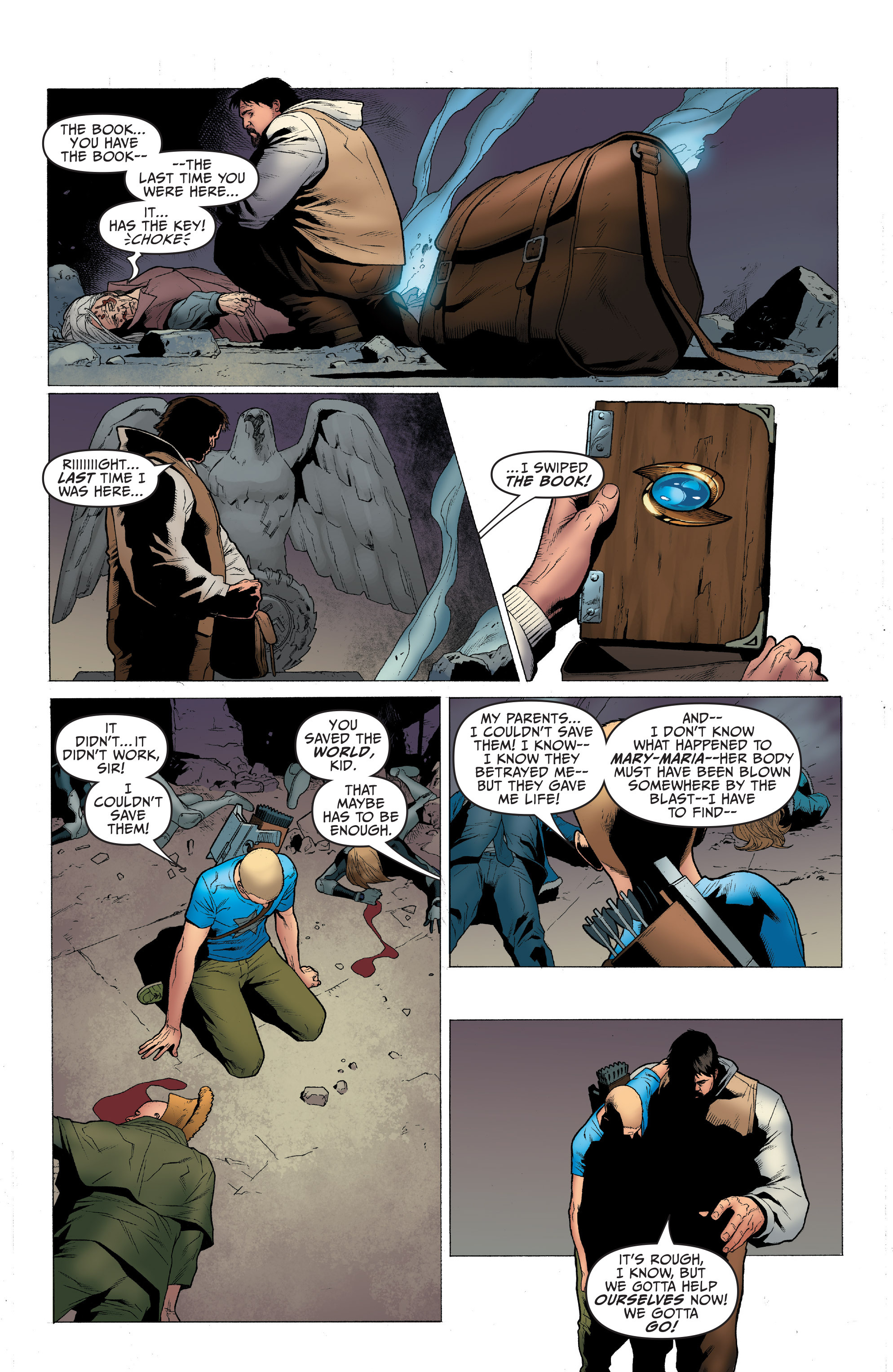 Read online Archer and Armstrong comic -  Issue #Archer and Armstrong _TPB 1 - 97