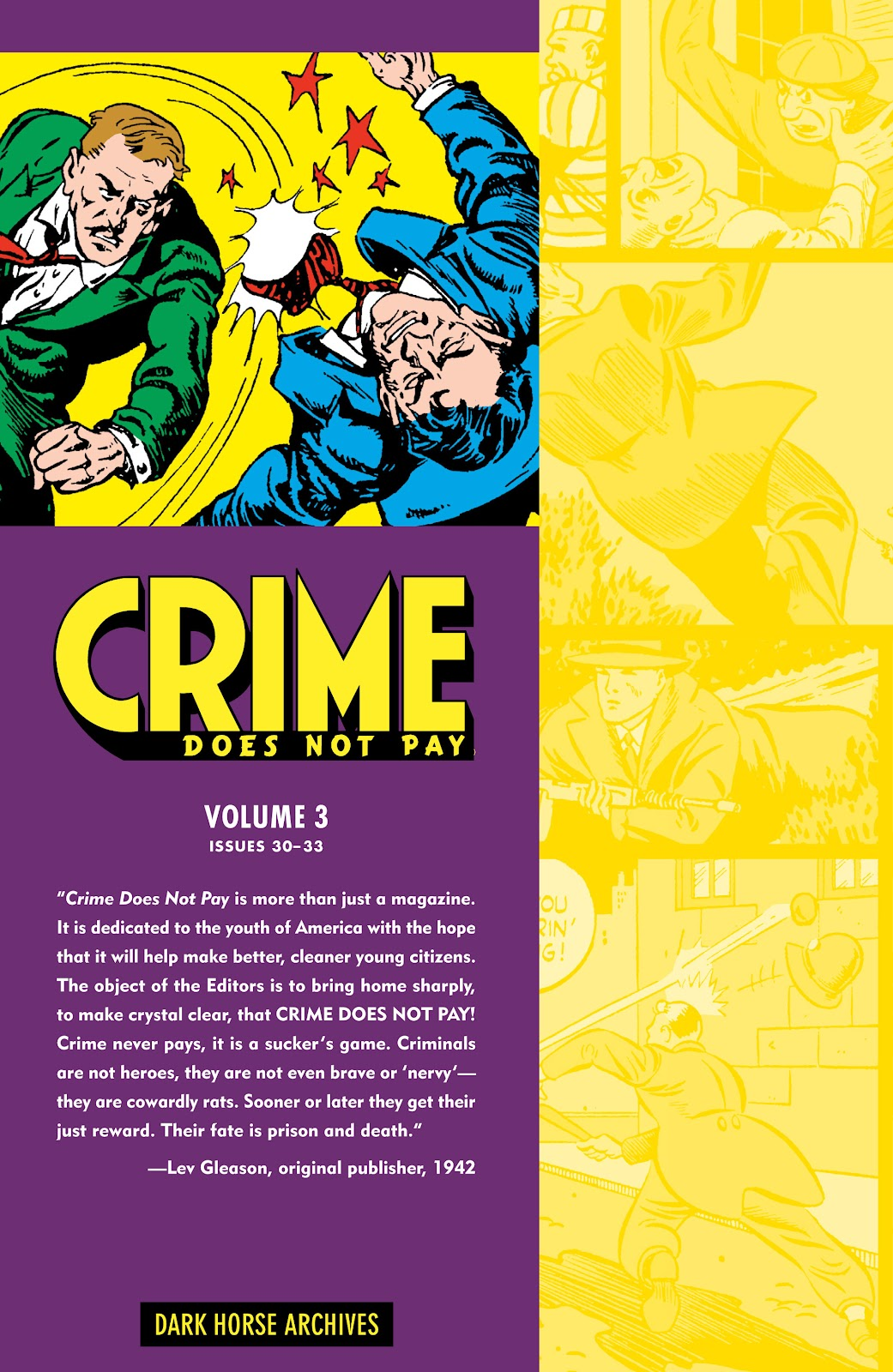 Read online Crime Does Not Pay Archives comic -  Issue # TPB 3 (Part 1) - 2