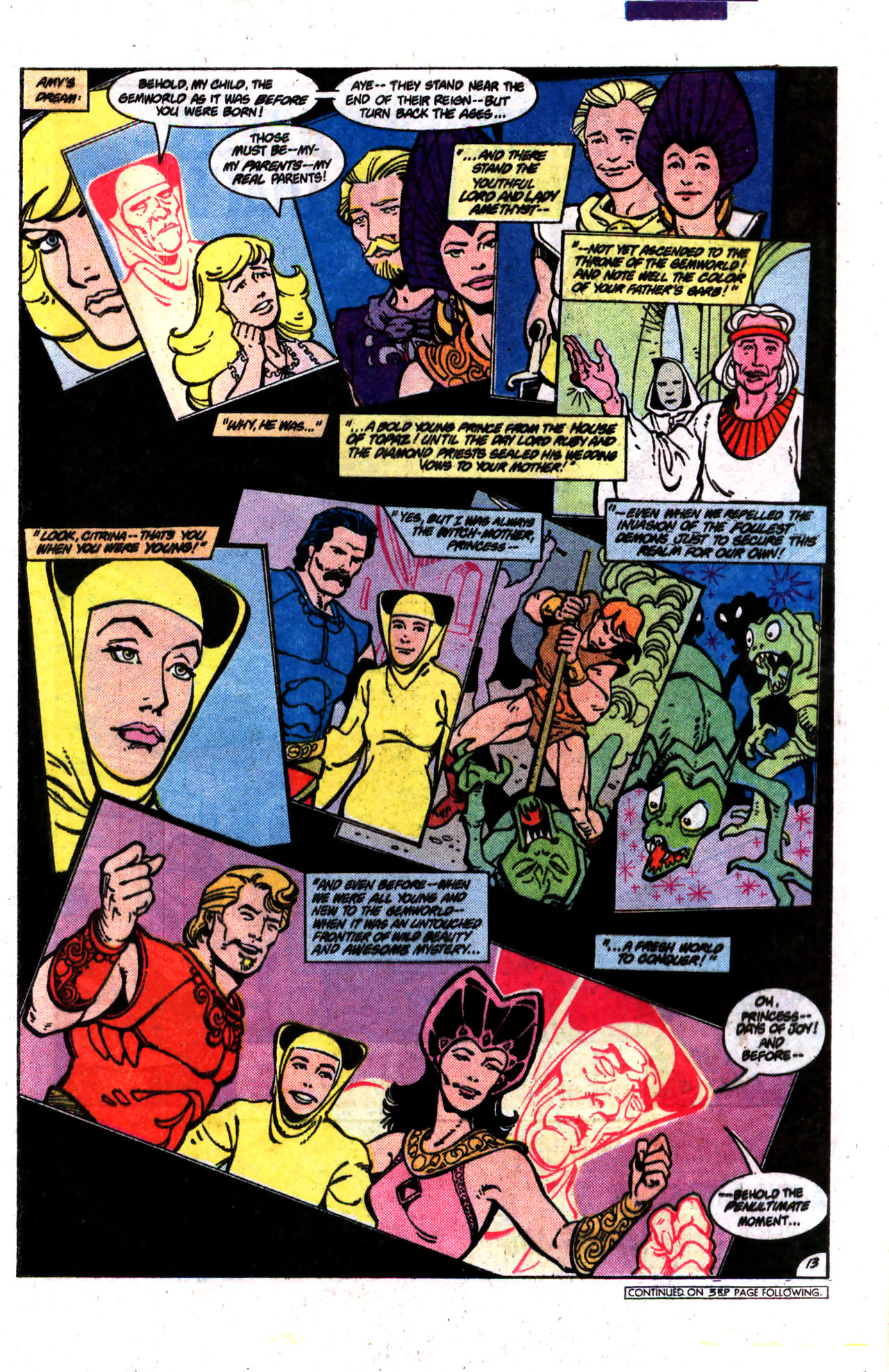 Read online Amethyst (1985) comic -  Issue #9 - 13