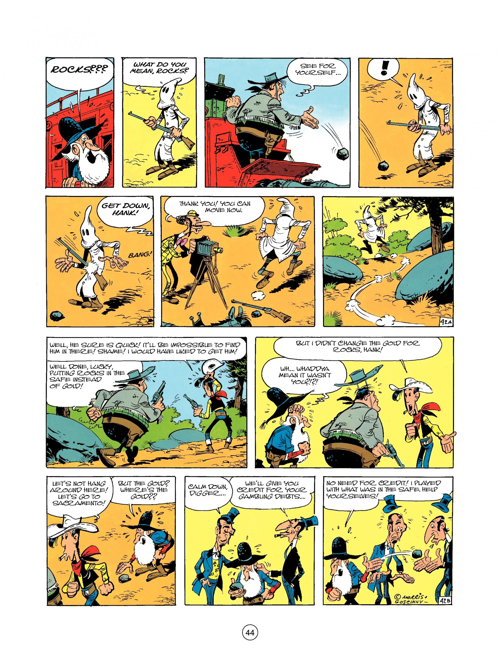 Read online A Lucky Luke Adventure comic -  Issue #25 - 44