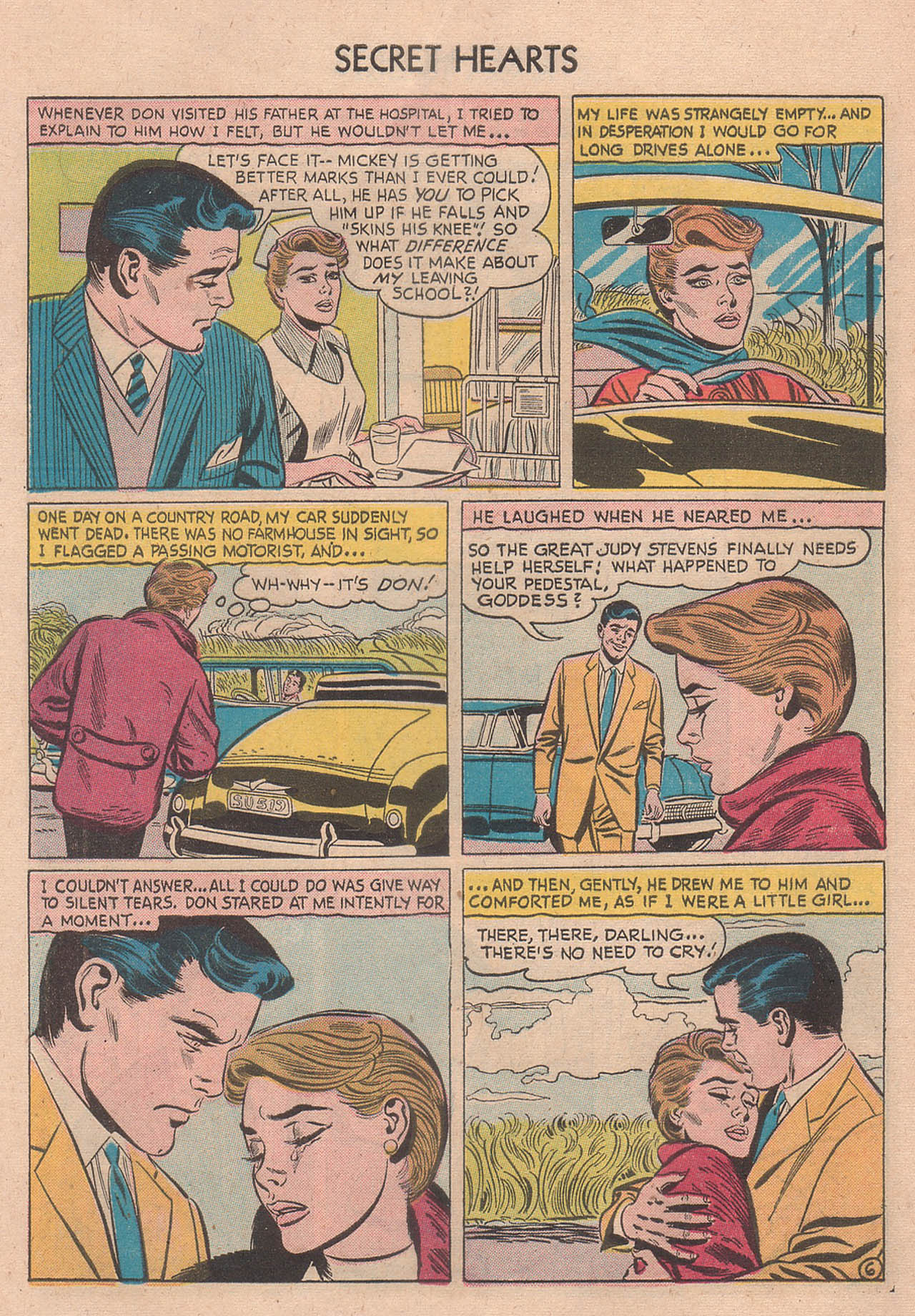 Read online Secret Hearts comic -  Issue #39 - 32