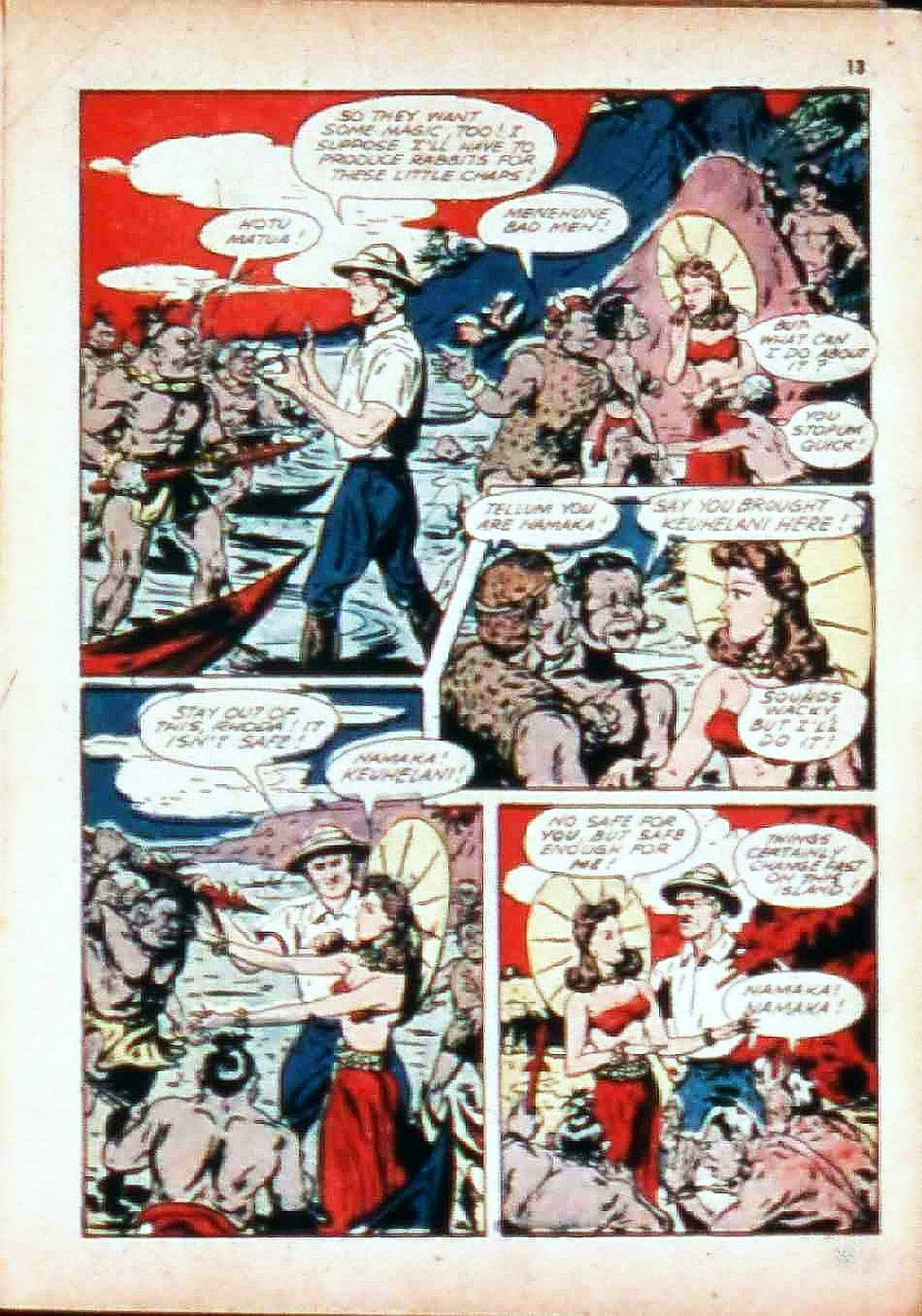 Read online Super-Magician Comics comic -  Issue #17 - 13