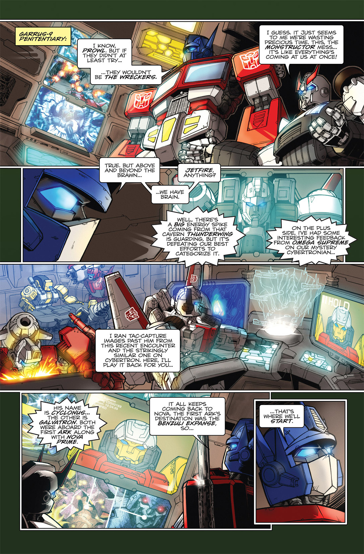 Read online Transformers Spotlight: Hardhead comic -  Issue # Full - 12
