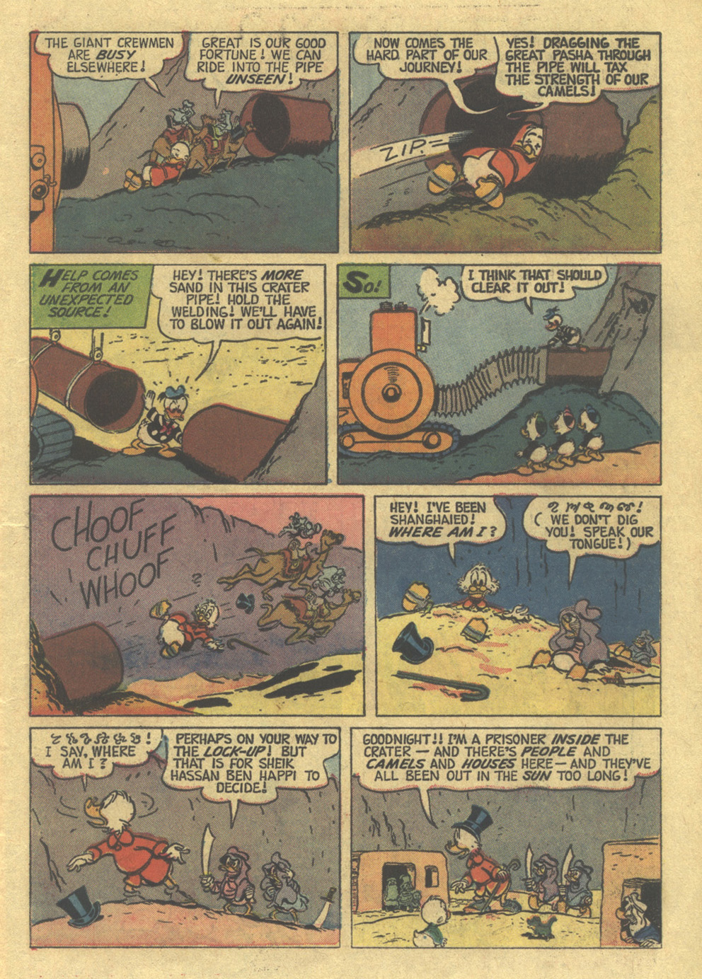 Read online Uncle Scrooge (1953) comic -  Issue #100 - 12
