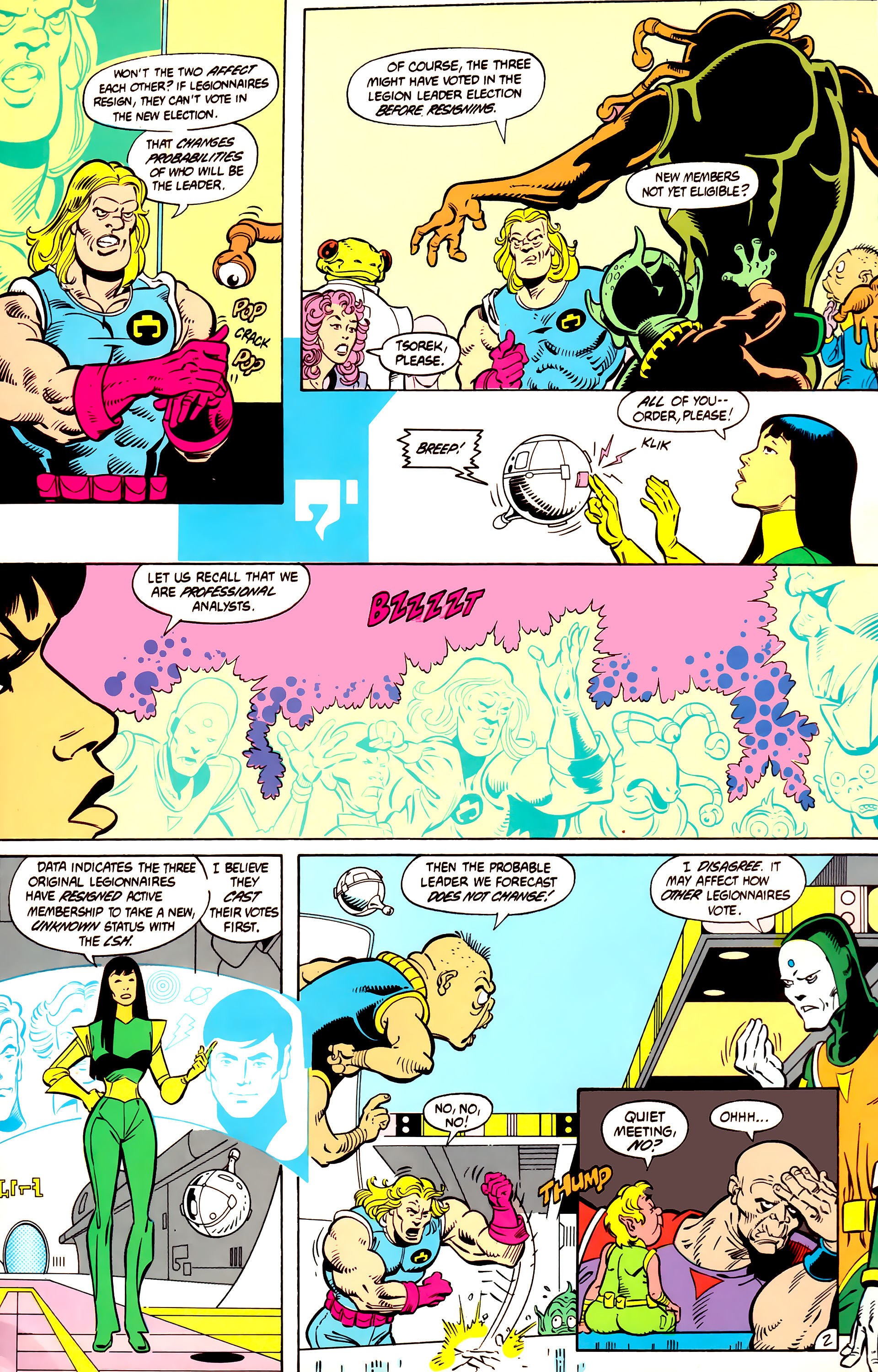 Legion of Super-Heroes (1984) 12 Page 15