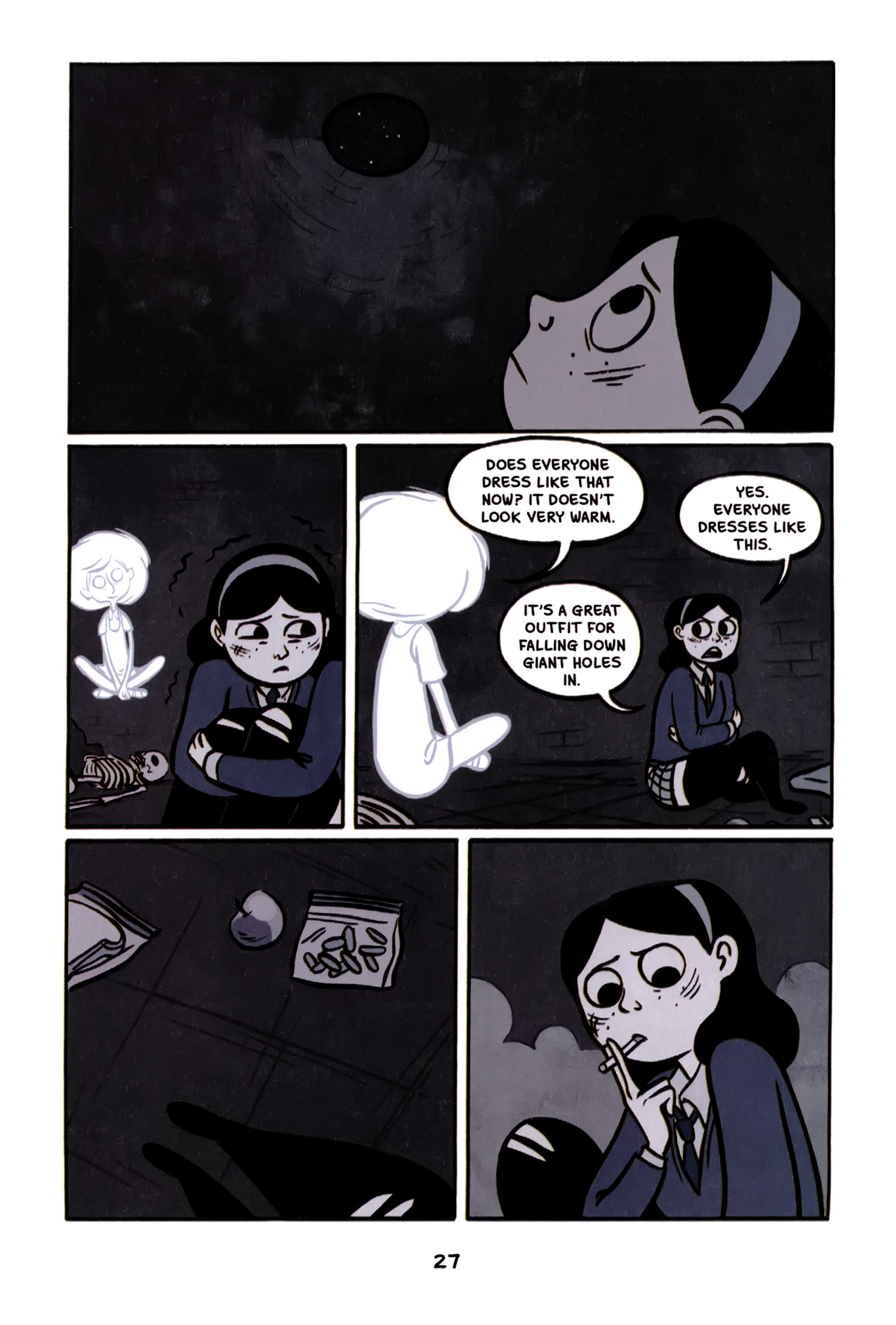 Read online Anya's Ghost comic -  Issue #1 - 28
