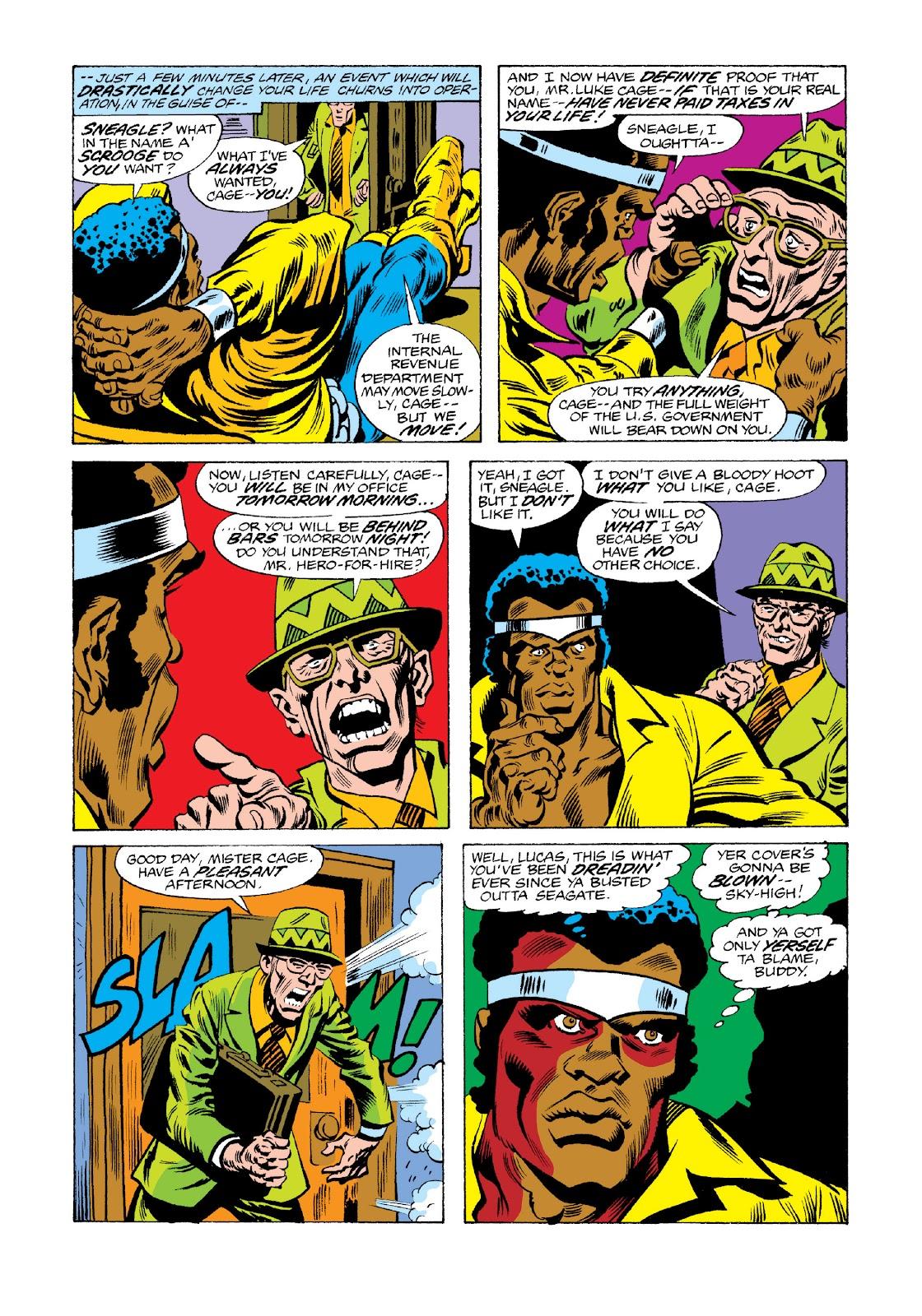 Read online Marvel Masterworks: Luke Cage, Power Man comic -  Issue # TPB 3 (Part 3) - 32