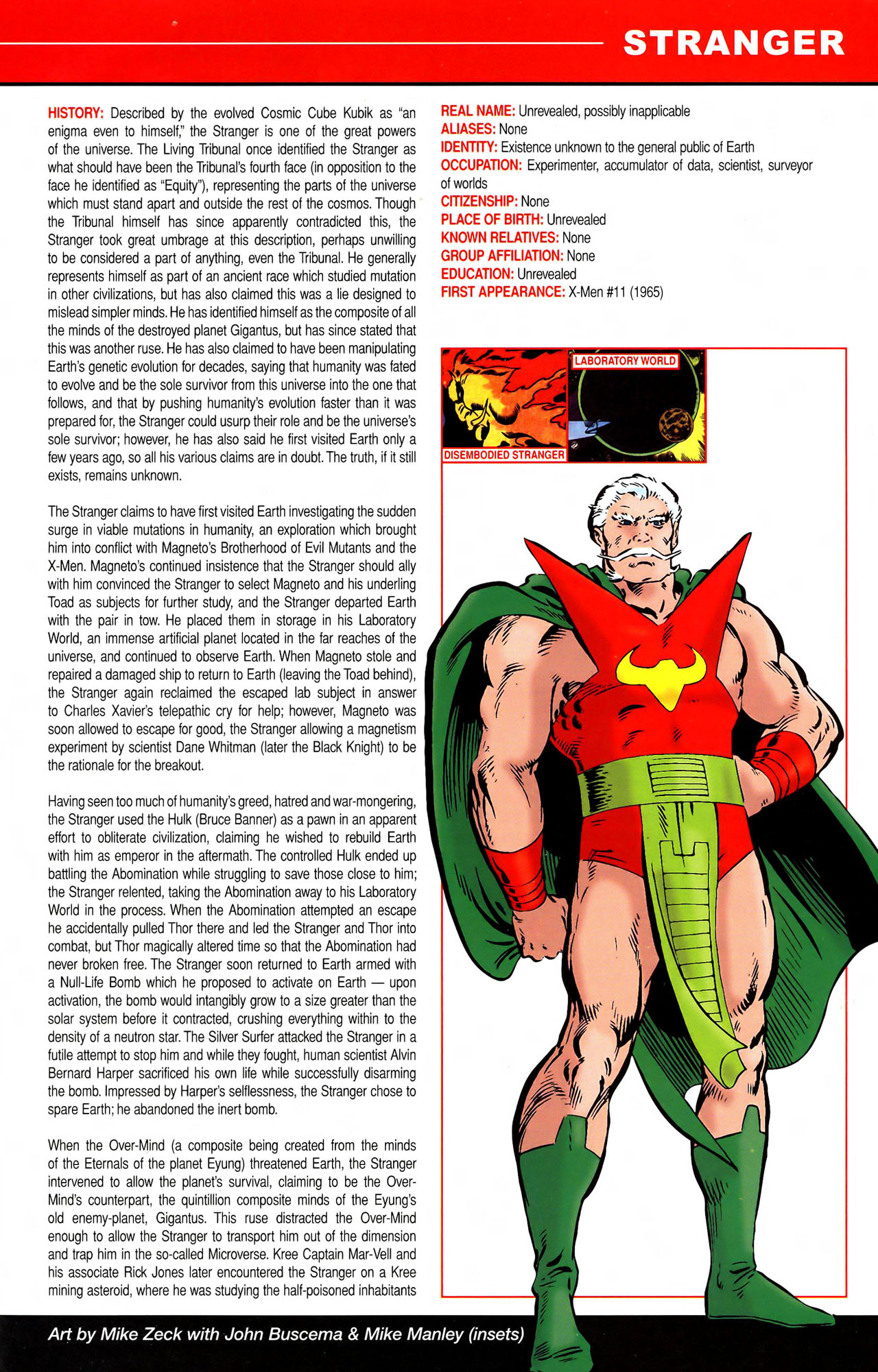 Read online All-New Official Handbook of the Marvel Universe A to Z comic -  Issue #11 - 3