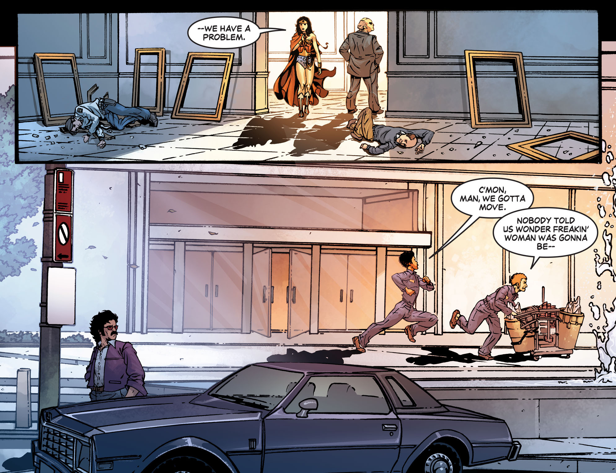 Read online Wonder Woman '77 [I] comic -  Issue #7 - 10