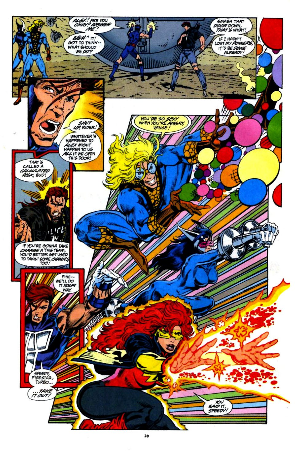 The New Warriors Issue #60 #64 - English 20