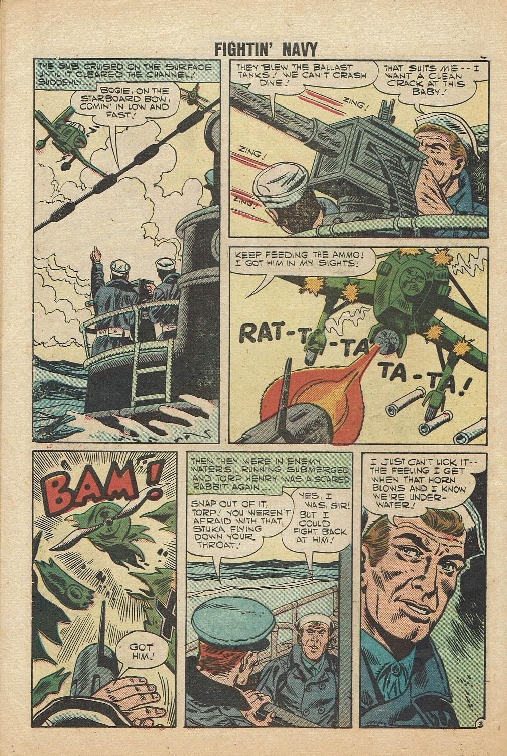 Read online Fightin' Navy comic -  Issue #81 - 30