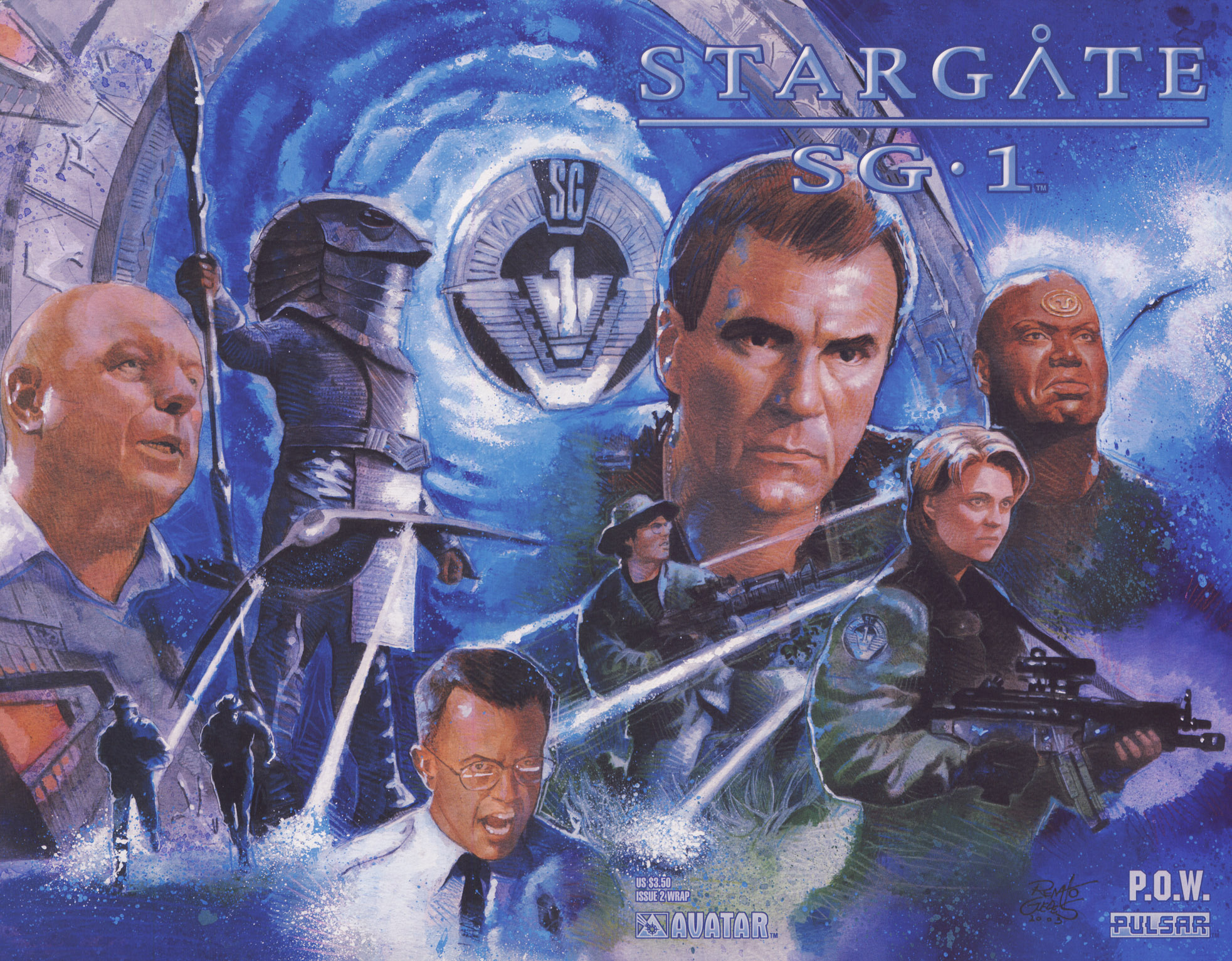 Read online Stargate SG-1: POW comic -  Issue #2 - 1