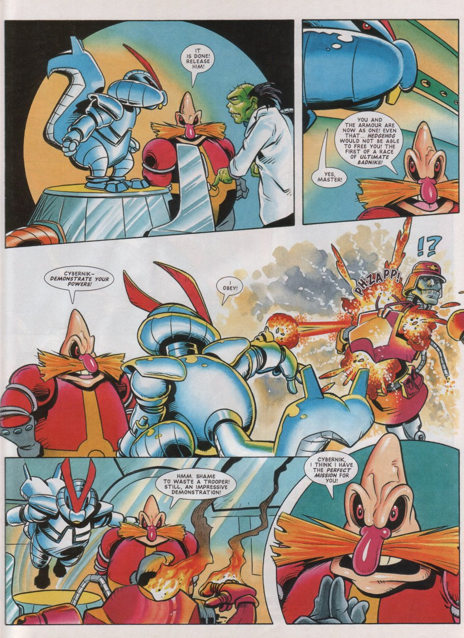 Read online Sonic the Comic comic -  Issue #46 - 20