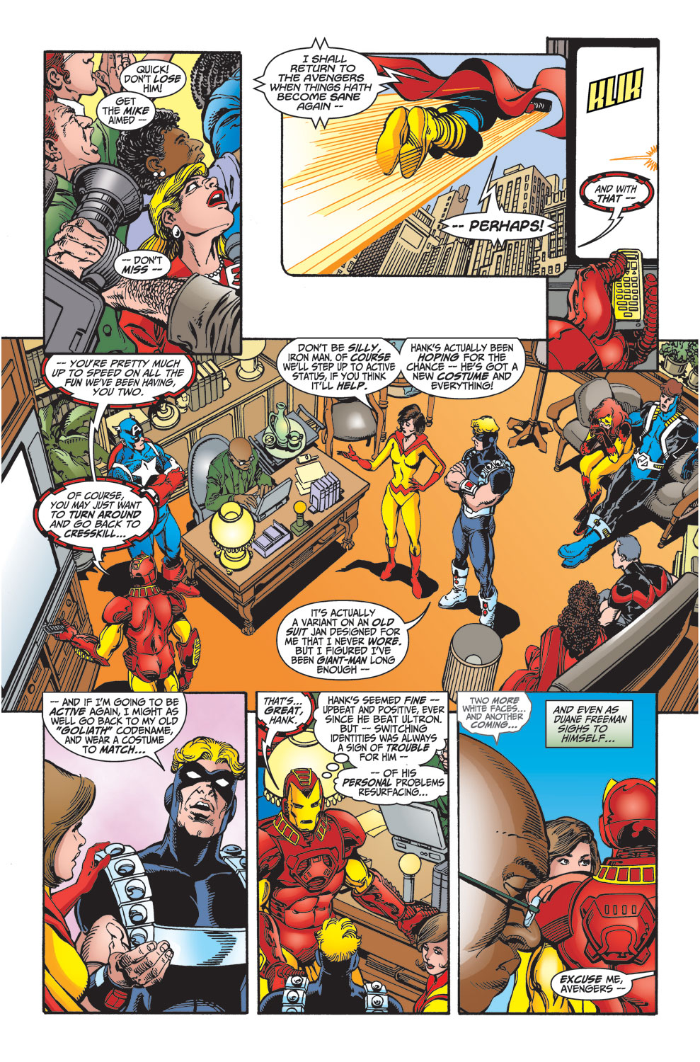 Read online Avengers (1998) comic -  Issue #27 - 10