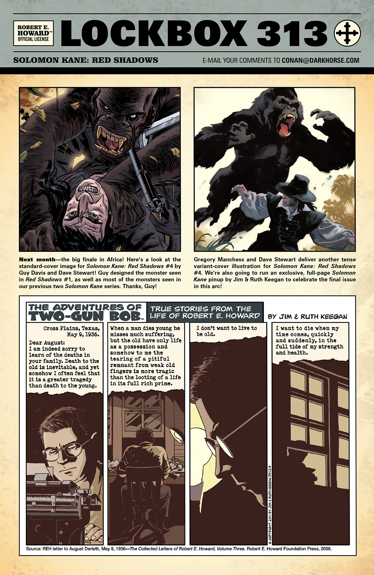 Read online Solomon Kane: Red Shadows comic -  Issue #3 - 26