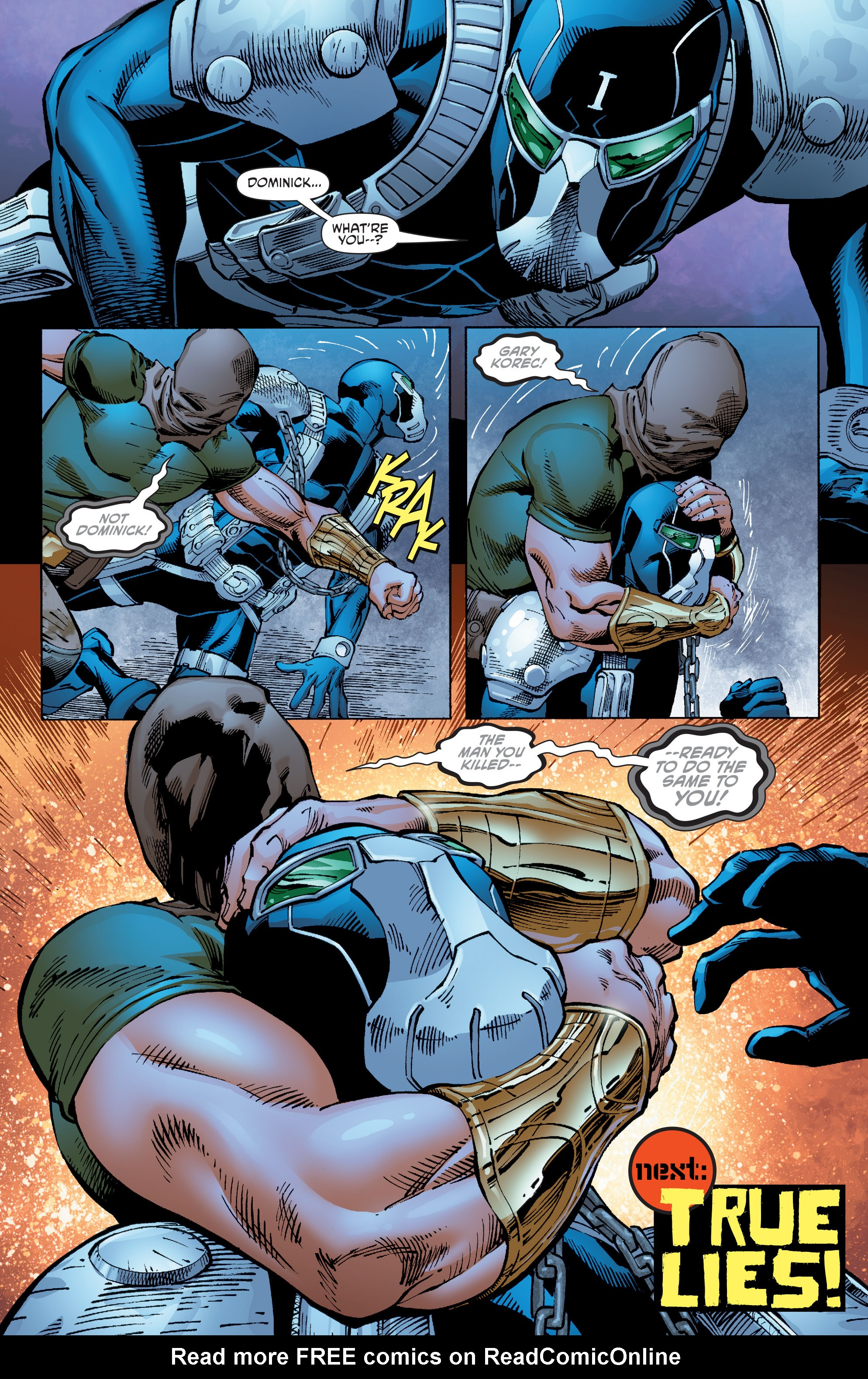 Read online Aquaman and the Others comic -  Issue #8 - 20
