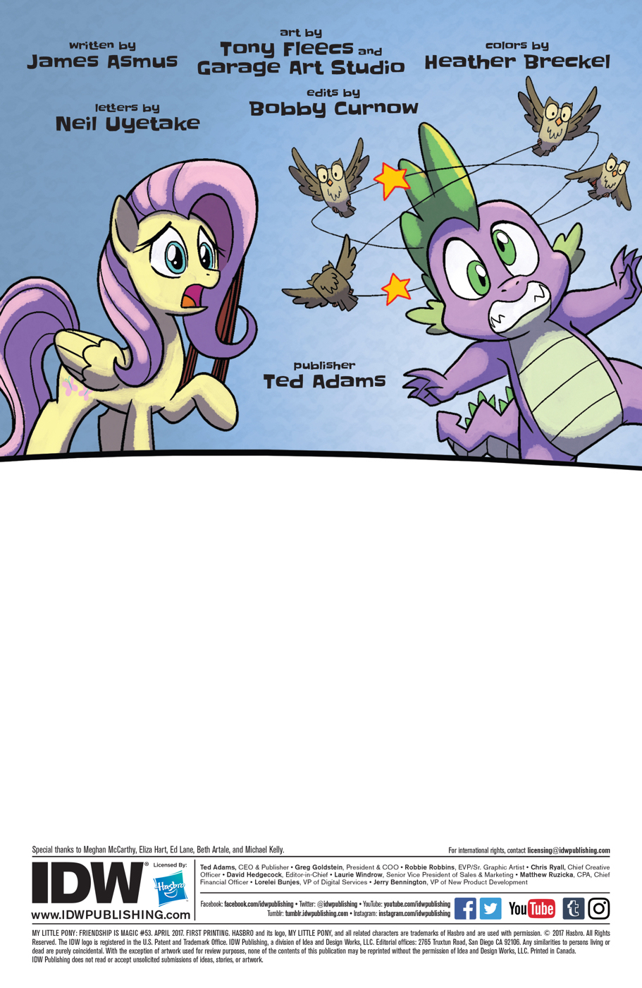 Read online My Little Pony: Friendship is Magic comic -  Issue #53 - 2