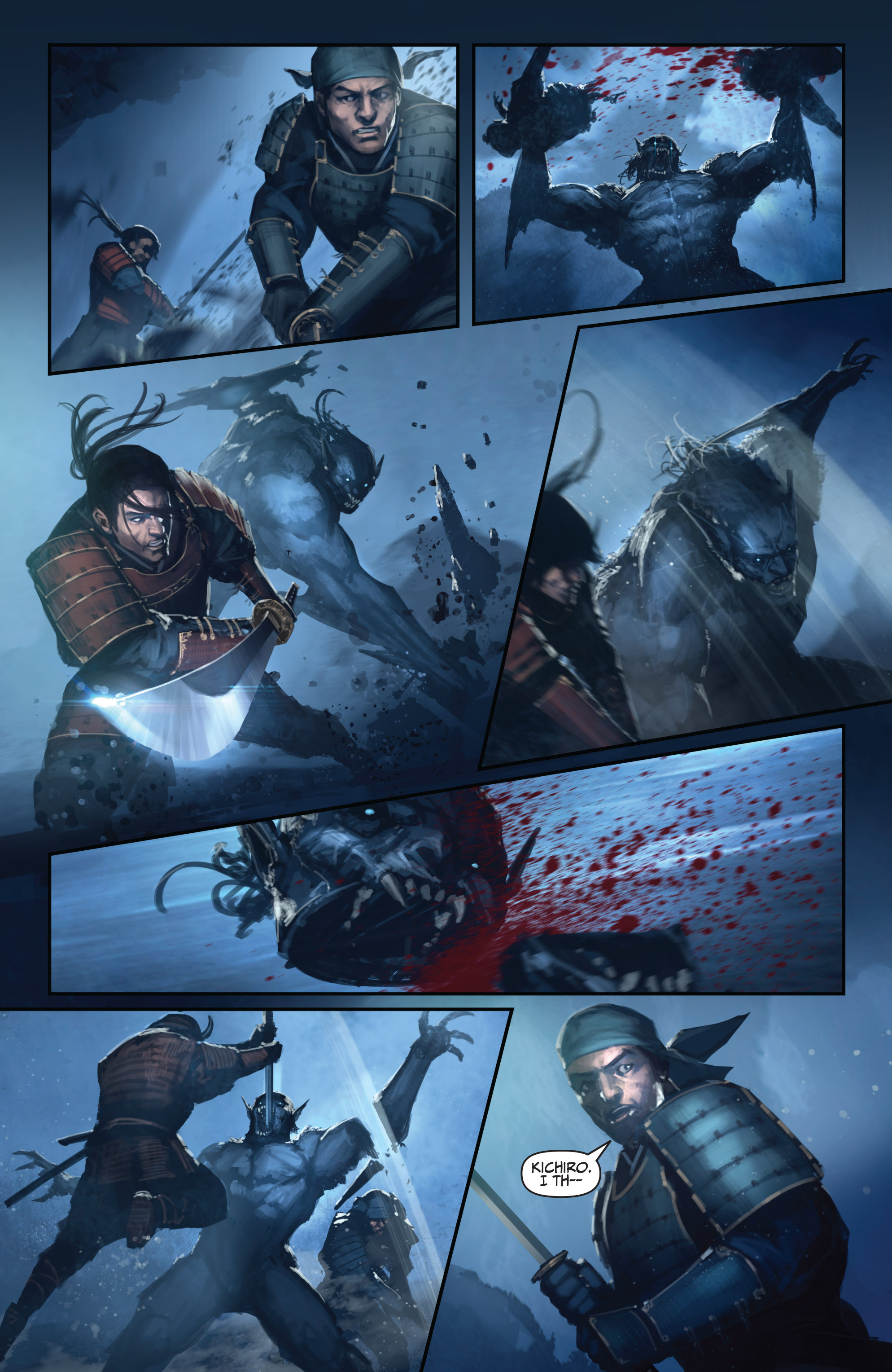 Read online Bushido: The Way of the Warrior comic -  Issue #4 - 17