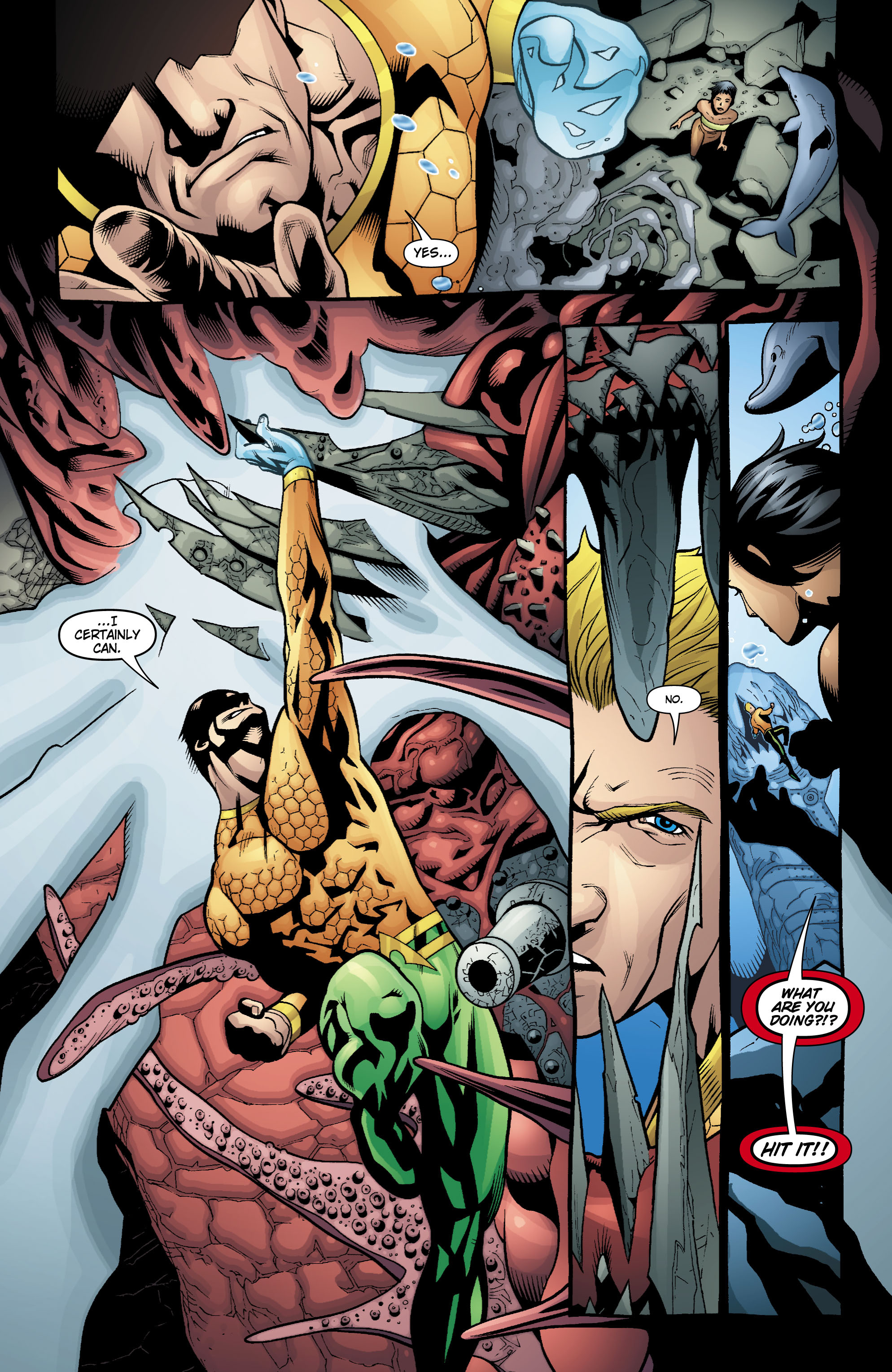 Read online Aquaman (2003) comic -  Issue #18 - 10