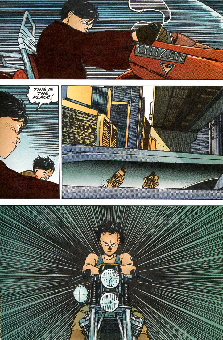 Read online Akira comic -  Issue #5 - 58