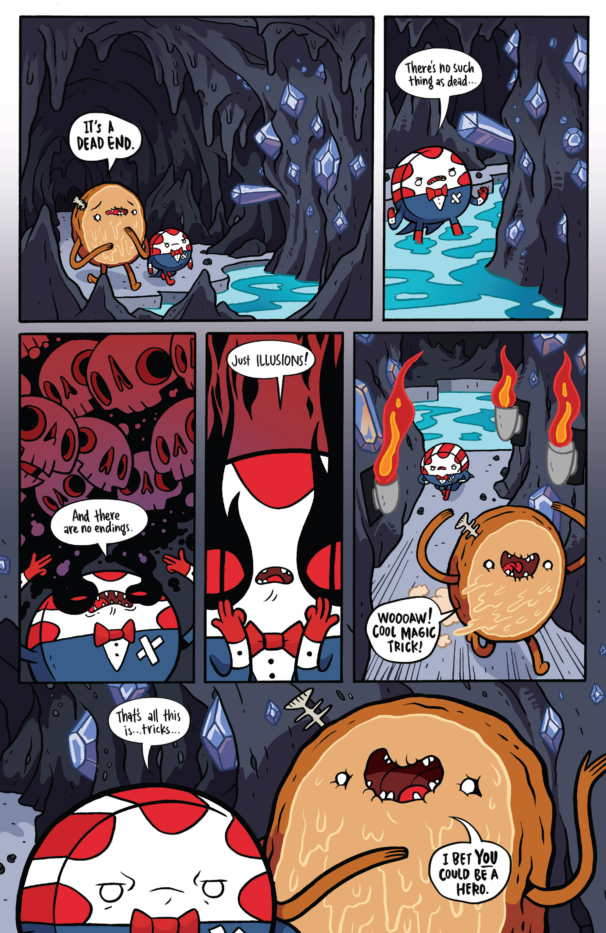 Read online Adventure Time: Candy Capers comic -  Issue #5 - 9
