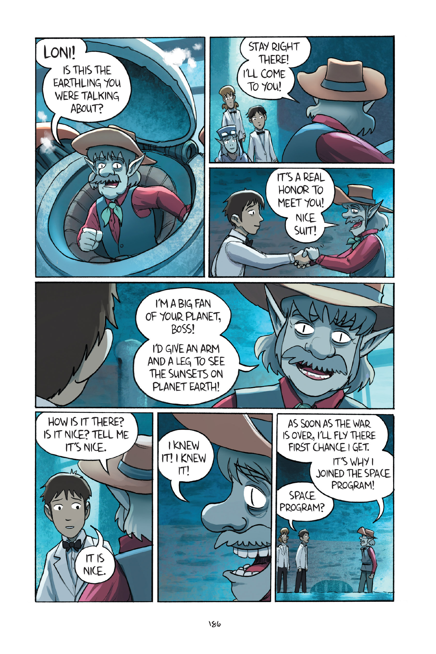 Read online Amulet comic -  Issue #7 - 185