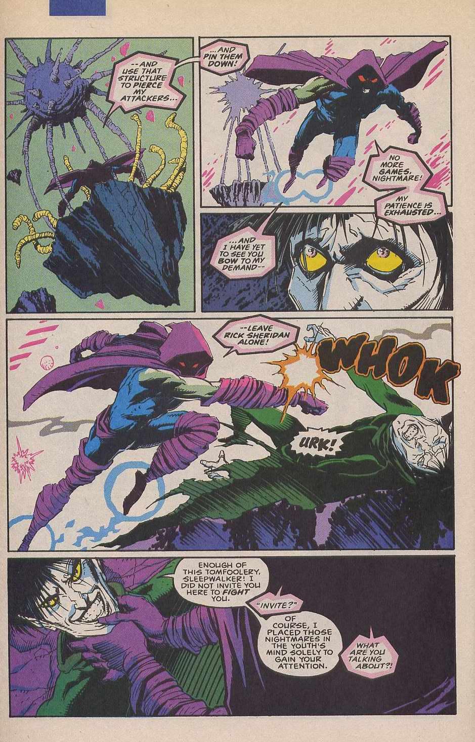 Read online Sleepwalker comic -  Issue #12 - 19