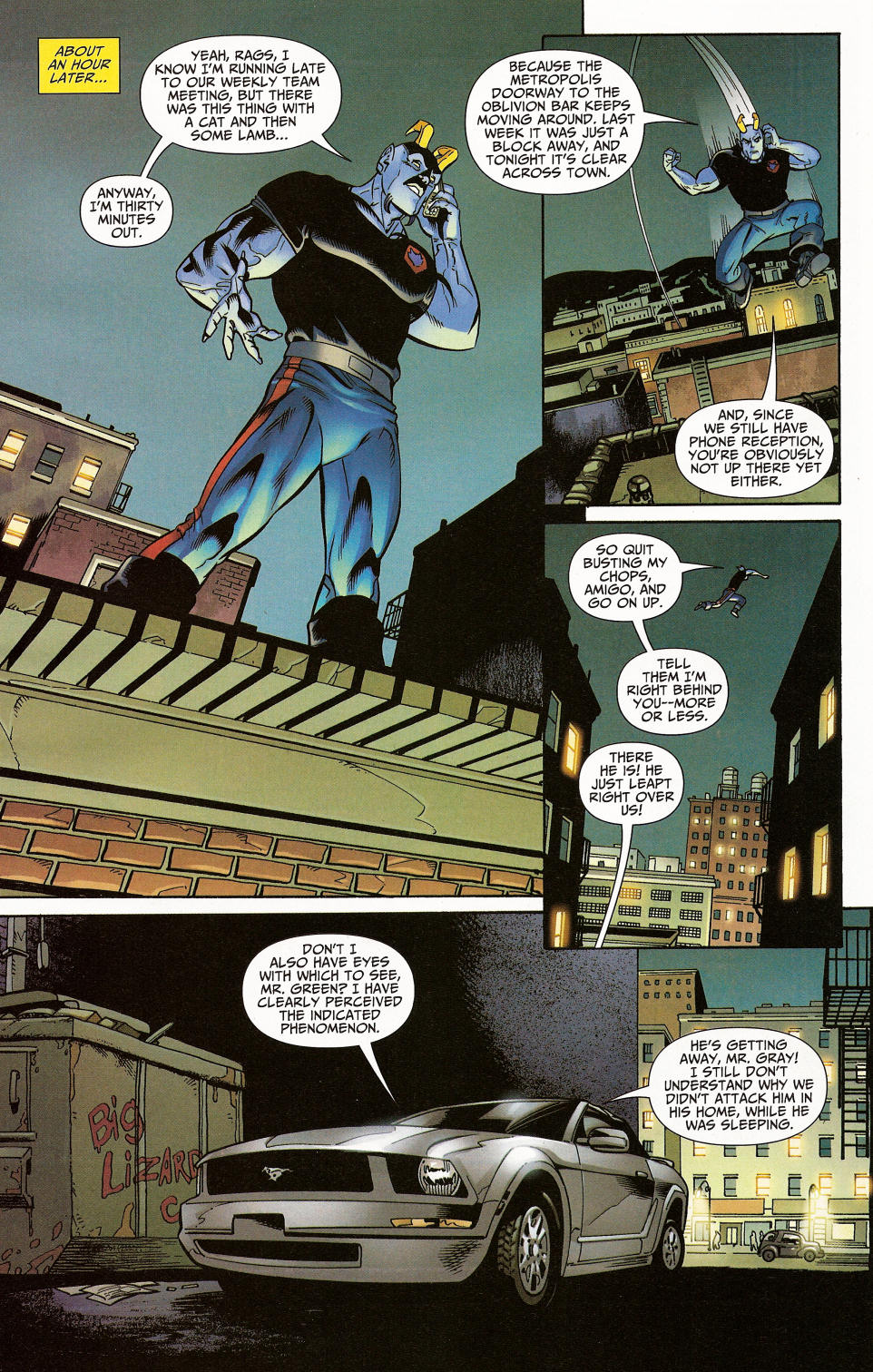 Read online Shadowpact comic -  Issue #4 - 10