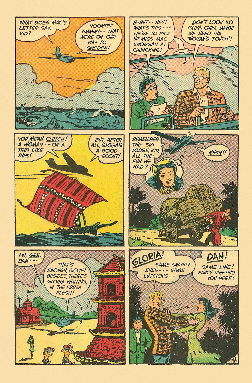 Read online Famous Funnies comic -  Issue #181 - 24