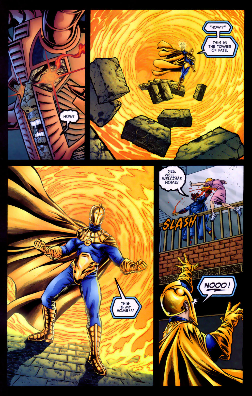 Read online Doctor Fate (2003) comic -  Issue #5 - 12