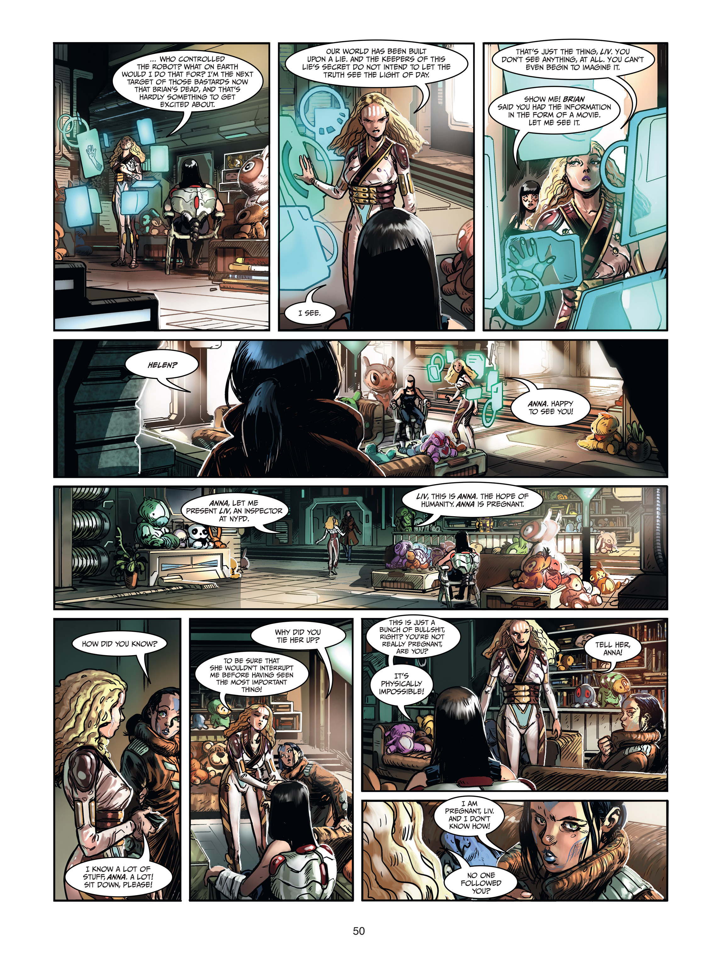 Read online Androïds comic -  Issue #1 - 48
