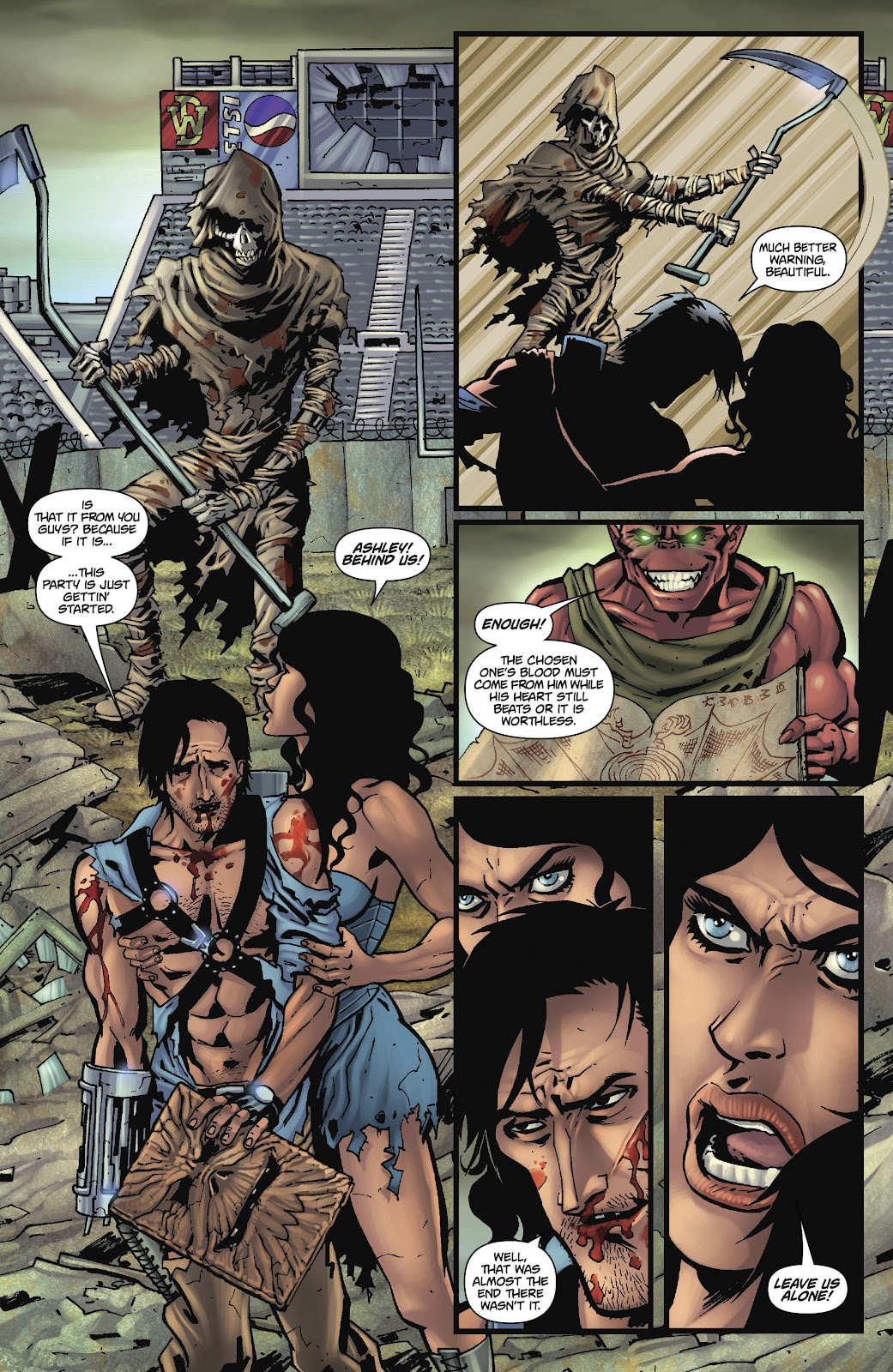 Army of Darkness: The Long Road Home issue TPB - Page 99