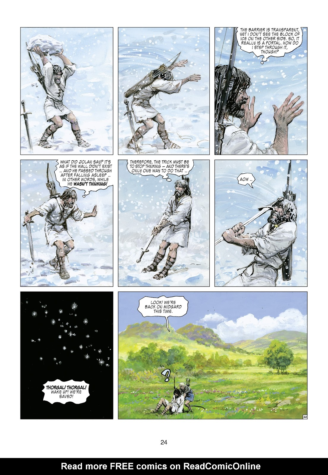 Read online Thorgal comic -  Issue #21 - 26