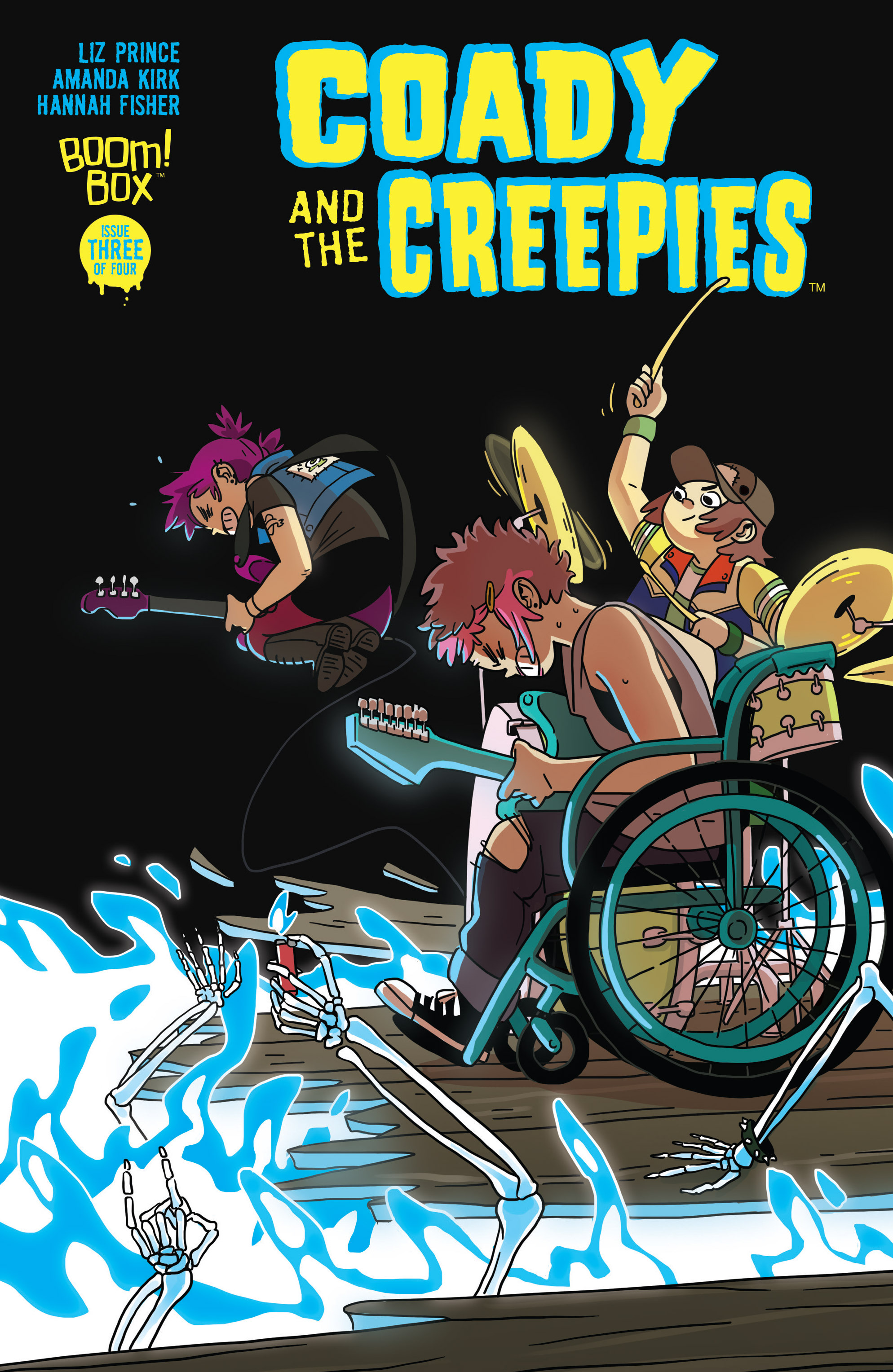 Read online Coady and the Creepies comic -  Issue #3 - 1