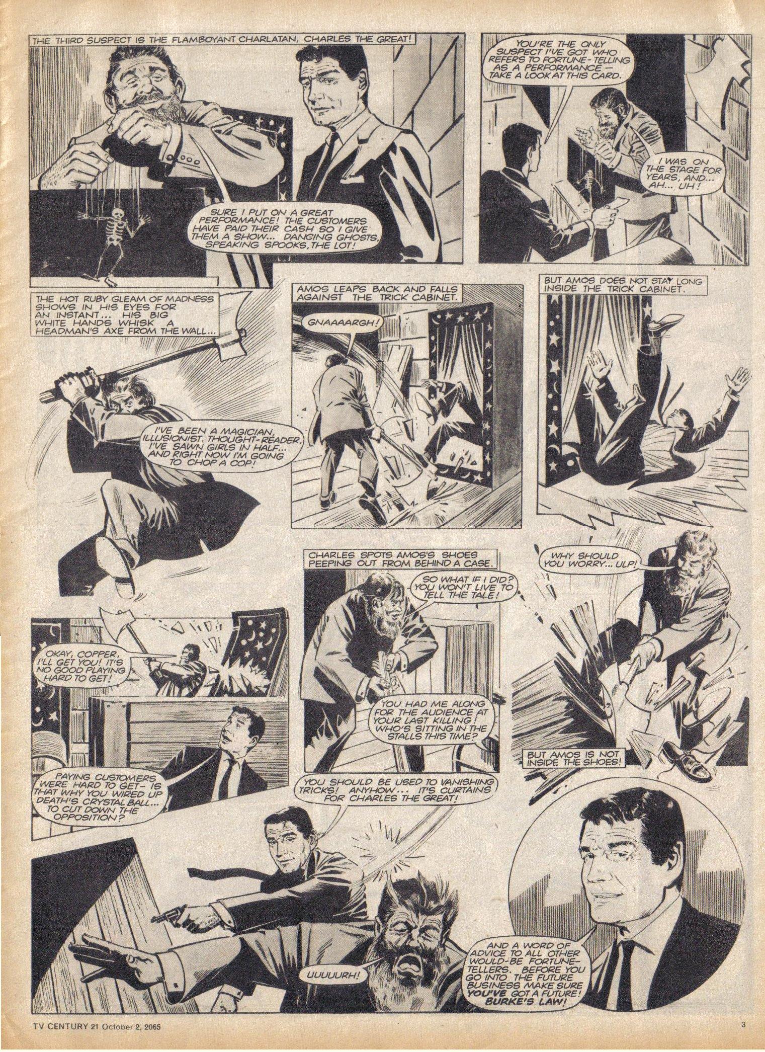 Read online TV Century 21 (TV 21) comic -  Issue #37 - 3