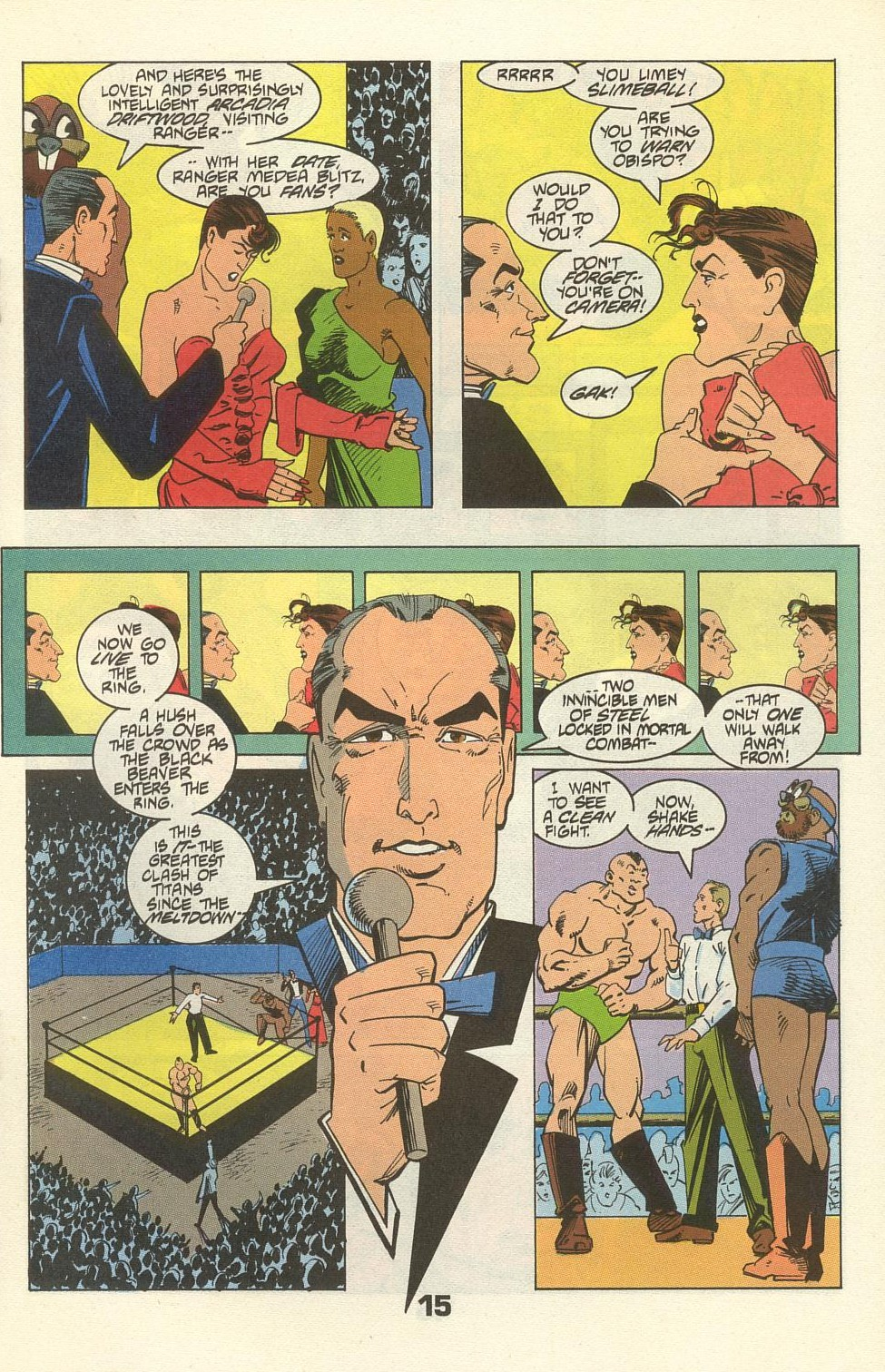 Read online American Flagg! comic -  Issue #34 - 19